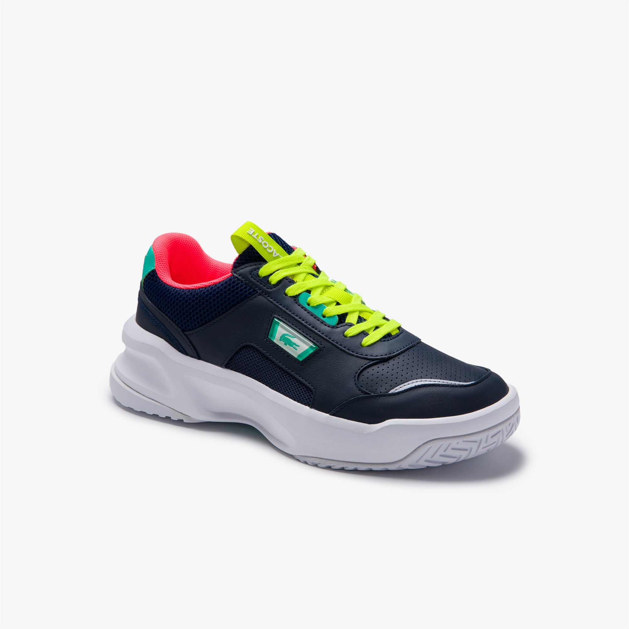 Lacoste Mens Ace Lift Leather Sneakers