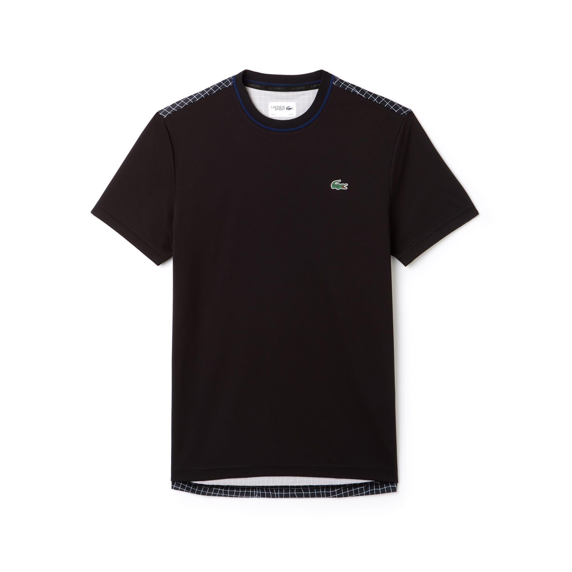Men's SPORT Contrast Crew Neck Piqué Tennis T-shirt