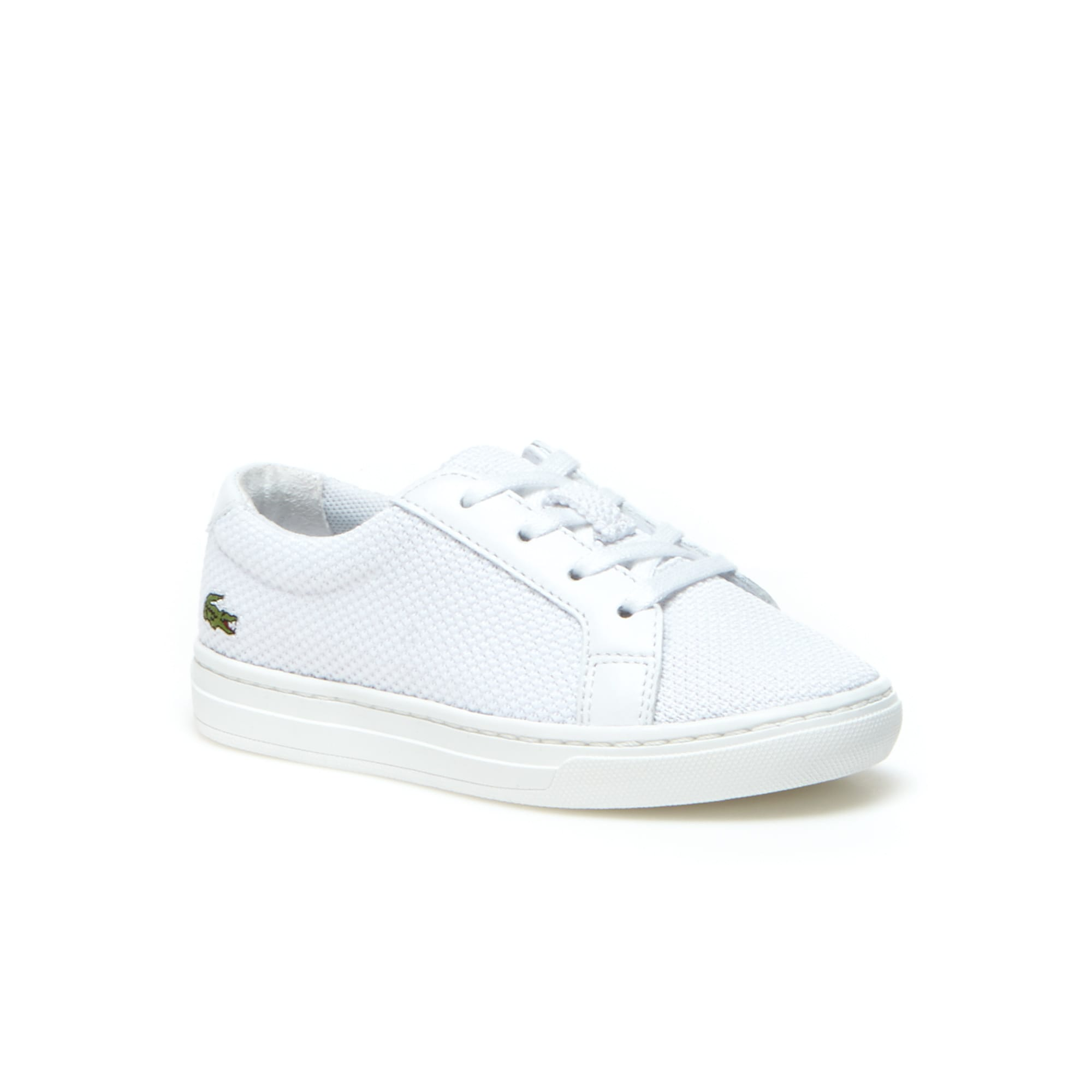 fe2534923eb6 Infants  L.12.12 BL Textile and Leather Trainers