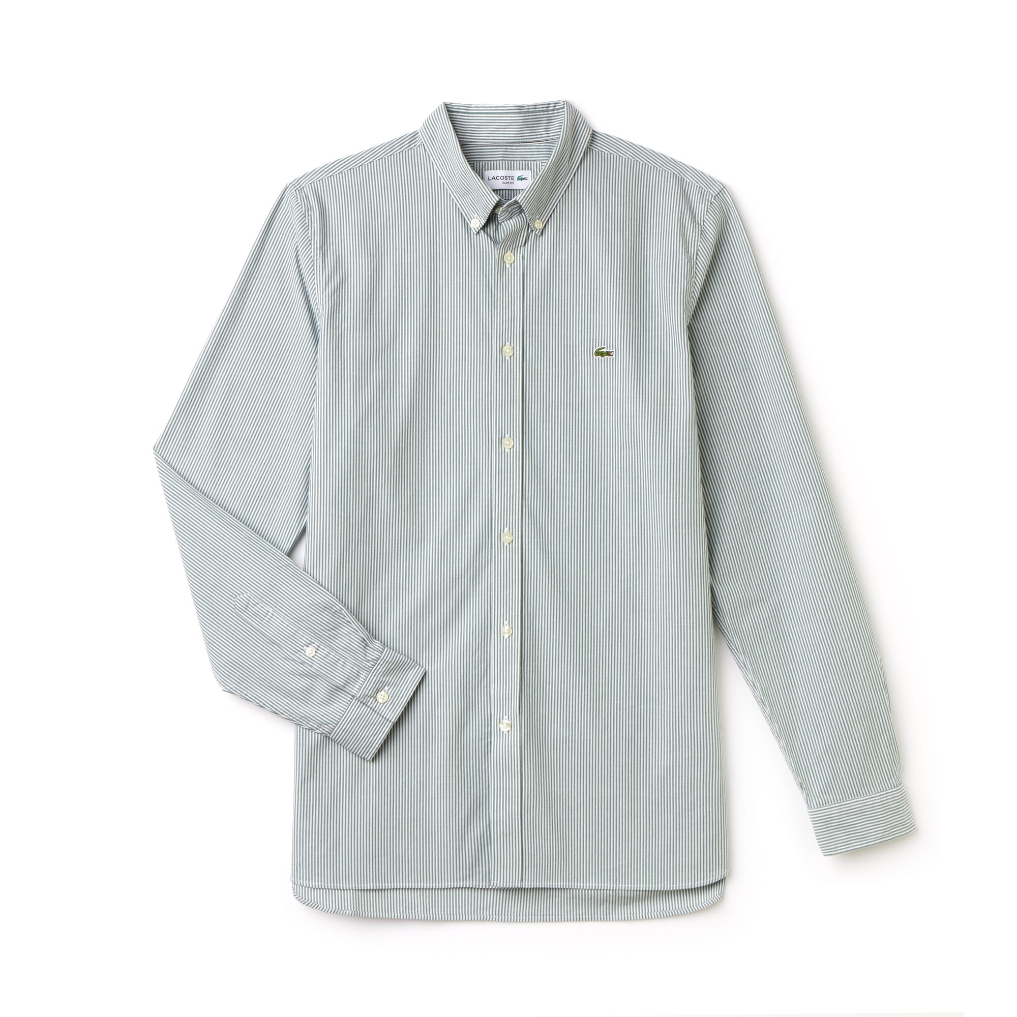 Men's Slim Fit Stretch Poplin Shirt
