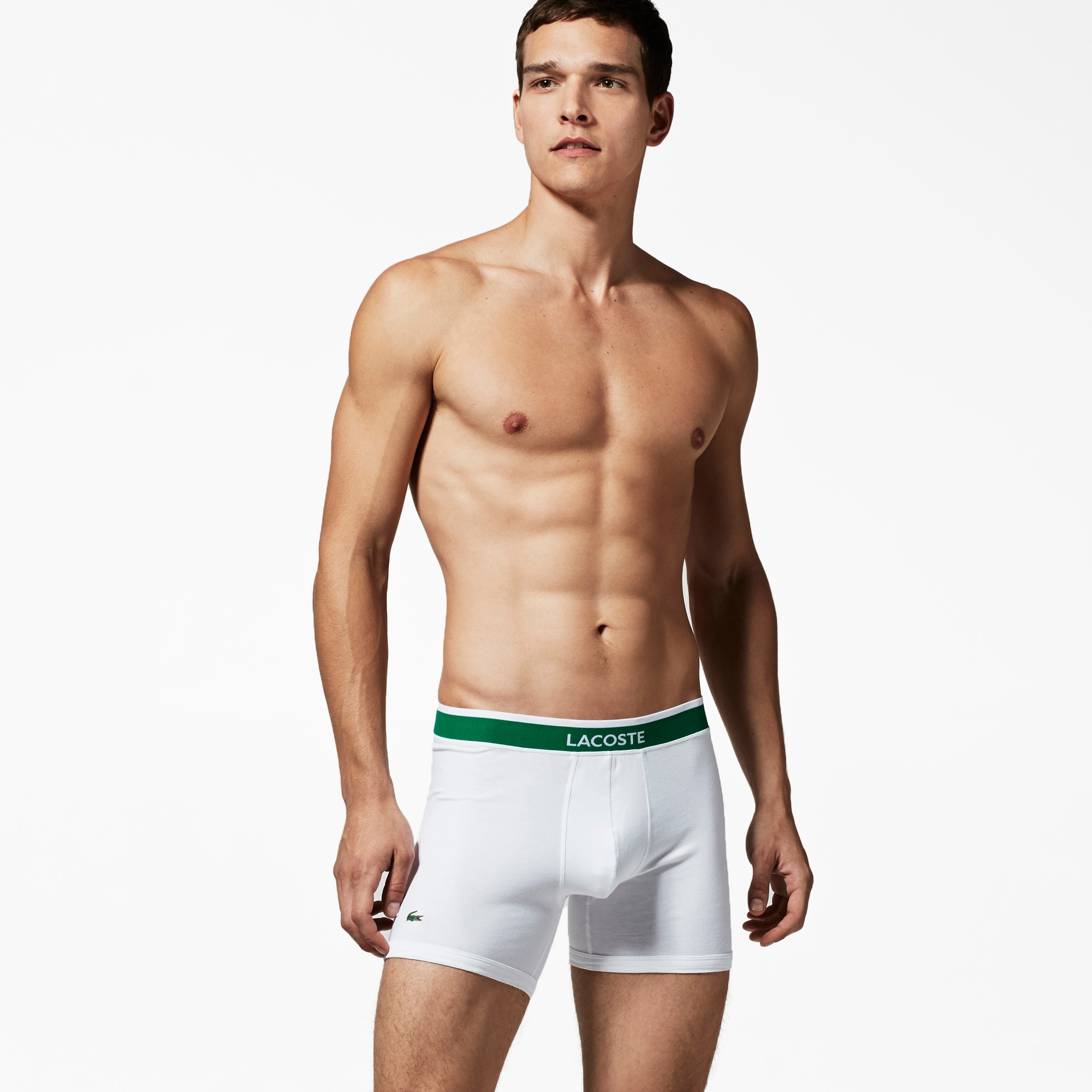 Men's 3 Pack Cotton Stretch Boxer Brief