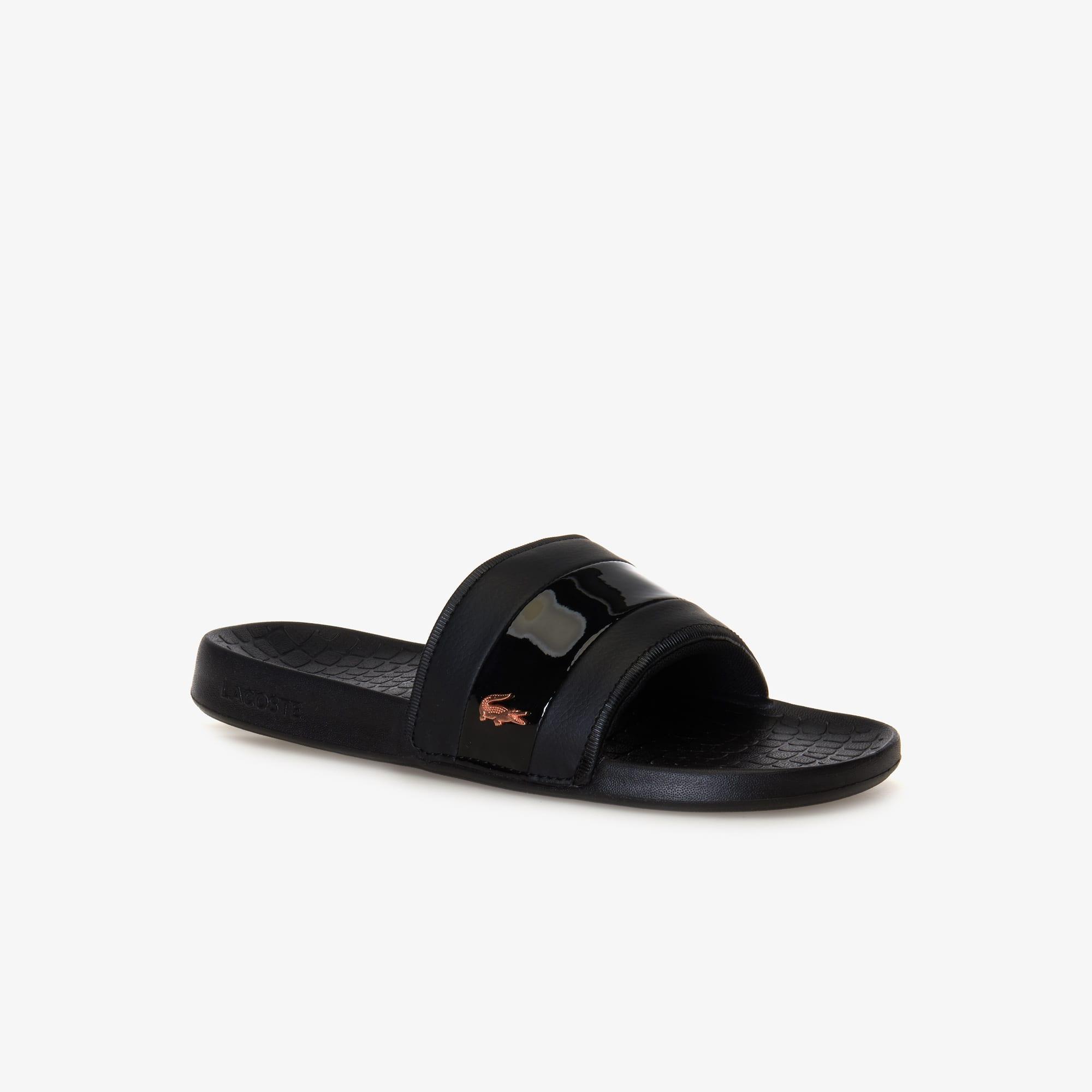 Women's Fraisier Leather-look Slides