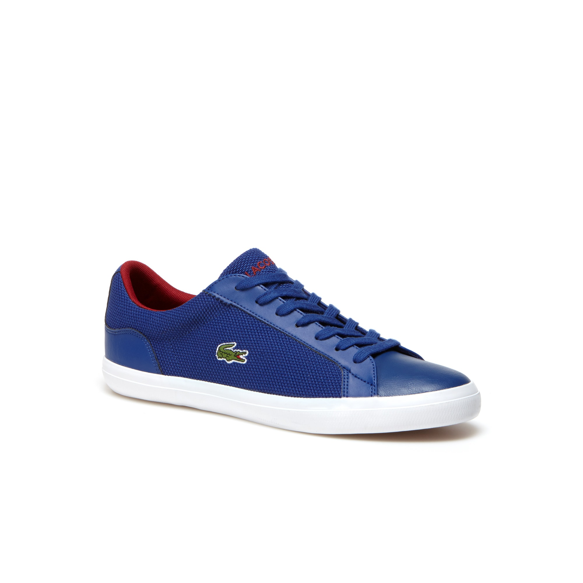 Men's Lerond Leather And Piqué Canvas Sneakers
