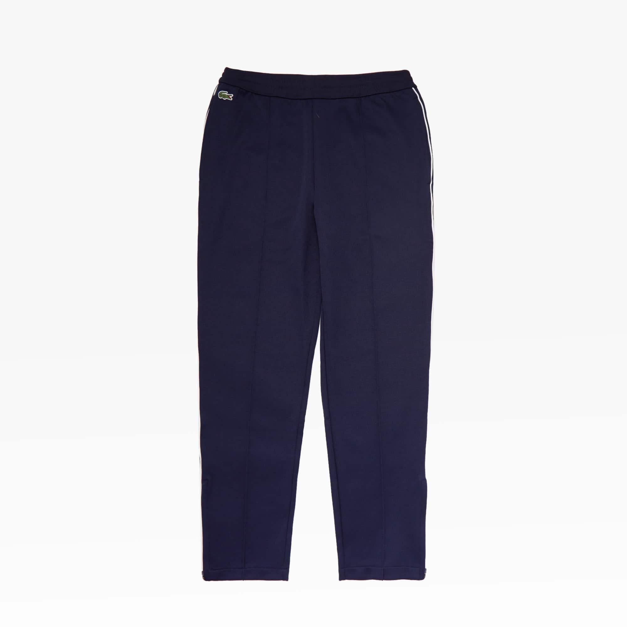 Mens 라코스테 Lacoste SPORT Run-resistant Pleated Tracksuit Pants