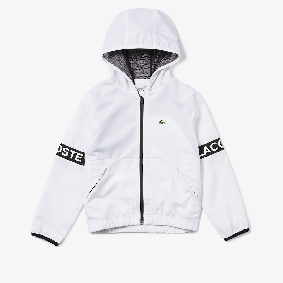Boys' SPORT Full-Zip Performance Hooded Jacket