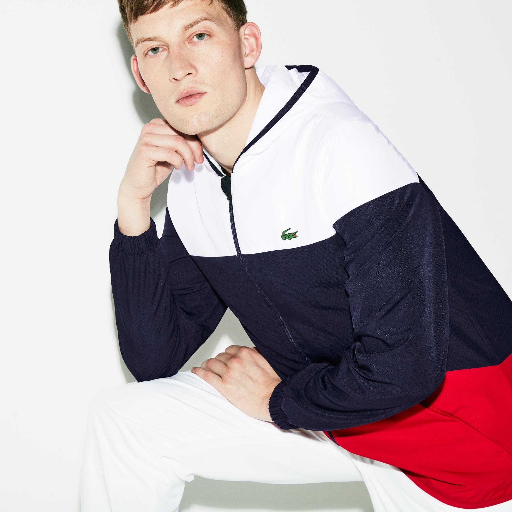 Veste à capuche Tennis SPORT color-block