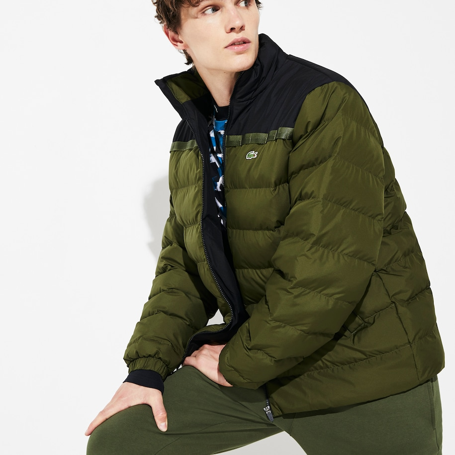 Men's SPORT Color-Blocked Water Resistant Quilted Jacket