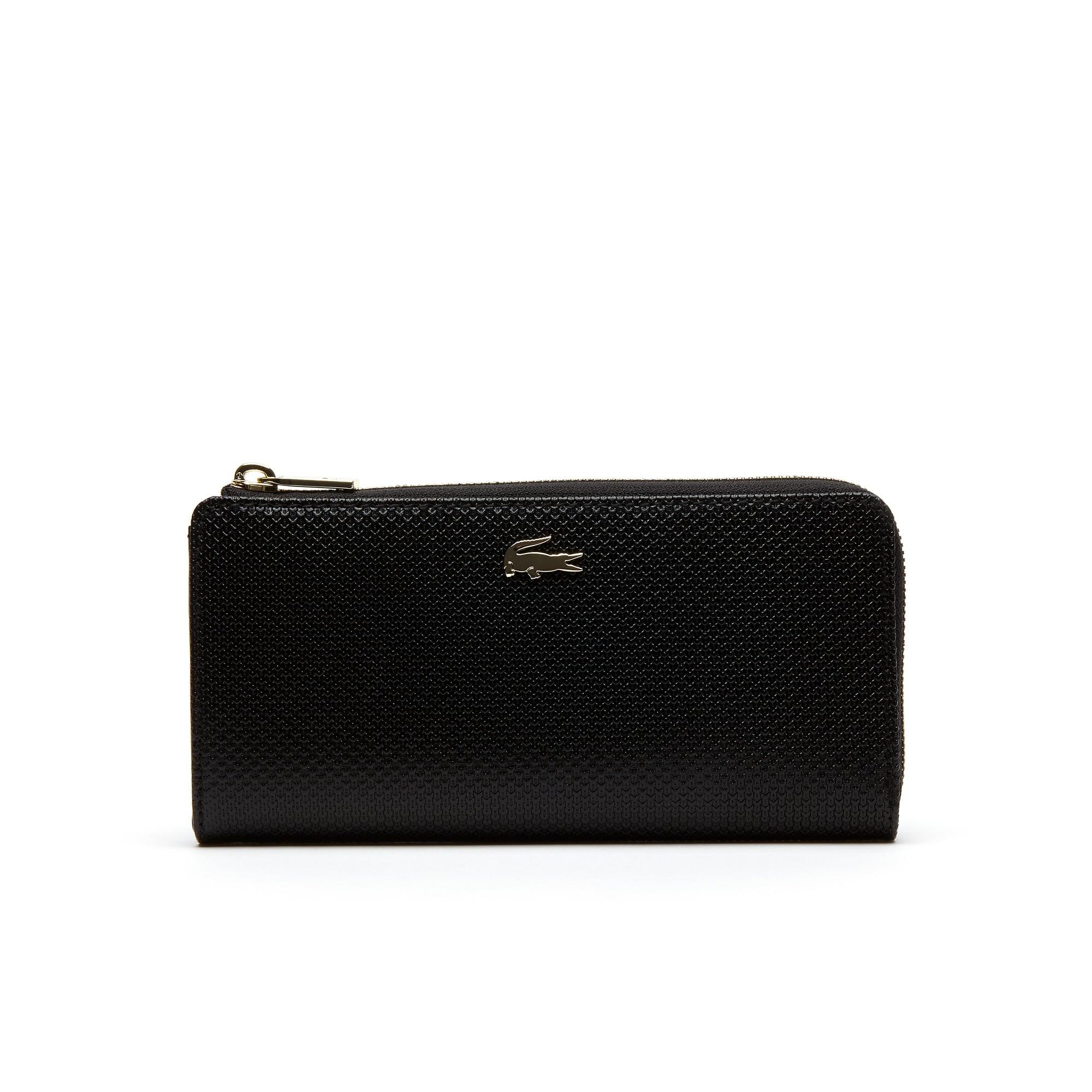 Women's Chantaco Piqué Leather 8 Card Zip Wallet