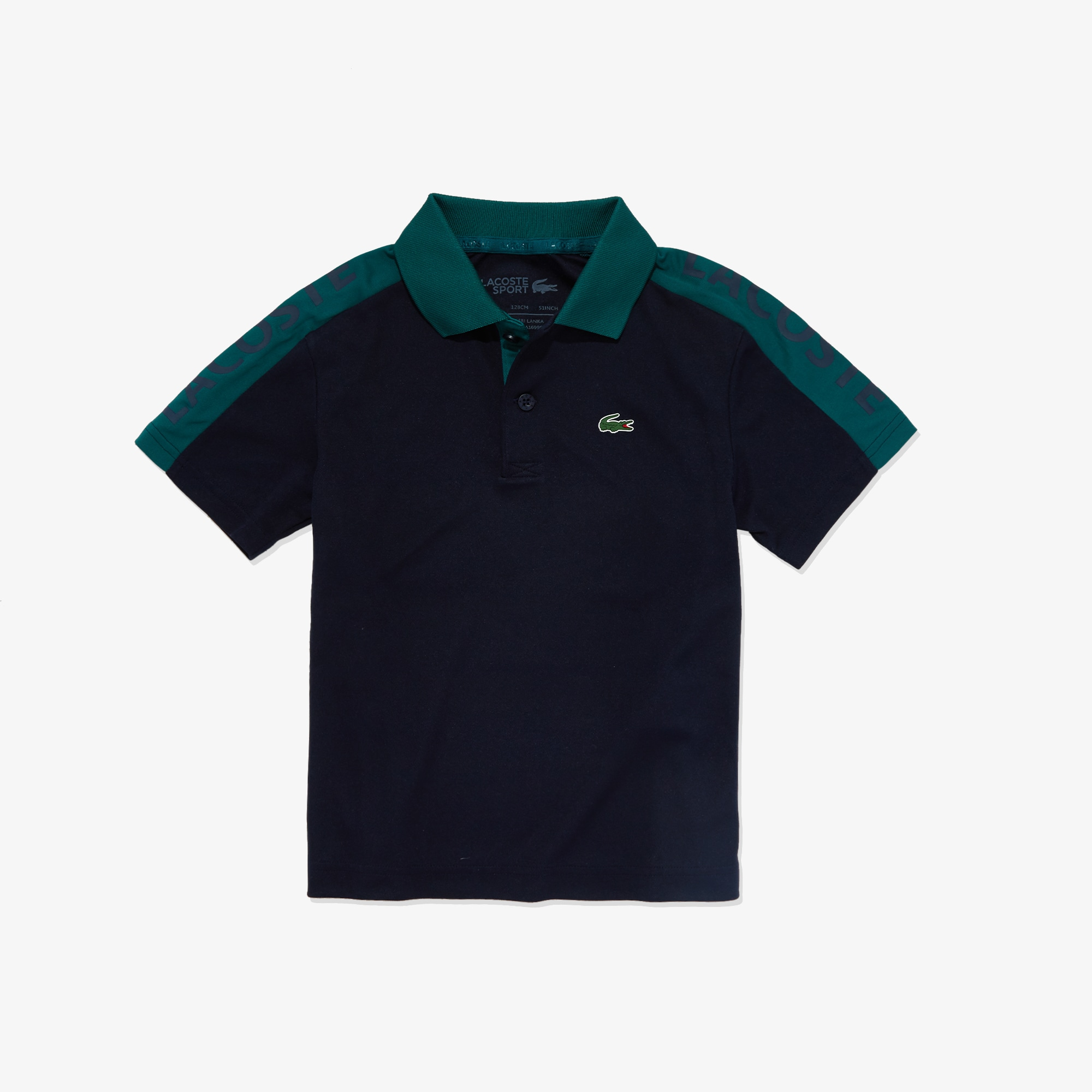 Boys' SPORT Two-Tone Breathable Piqué Polo