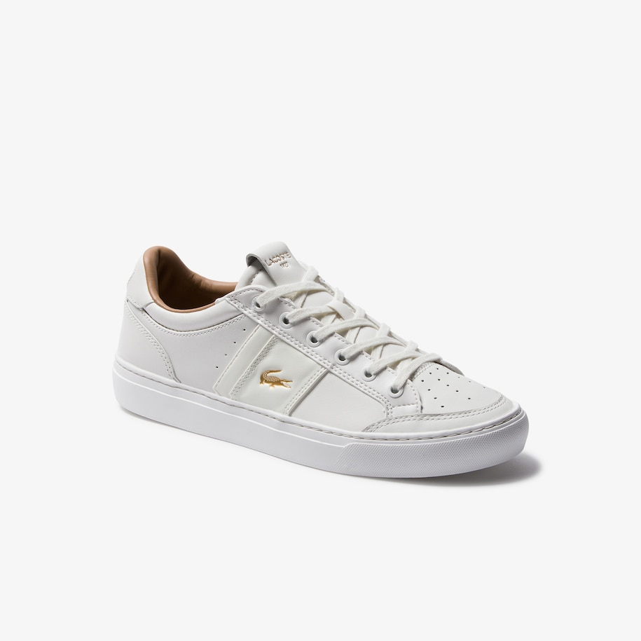 Men's Courtline Leather and Synthetic Sneakers