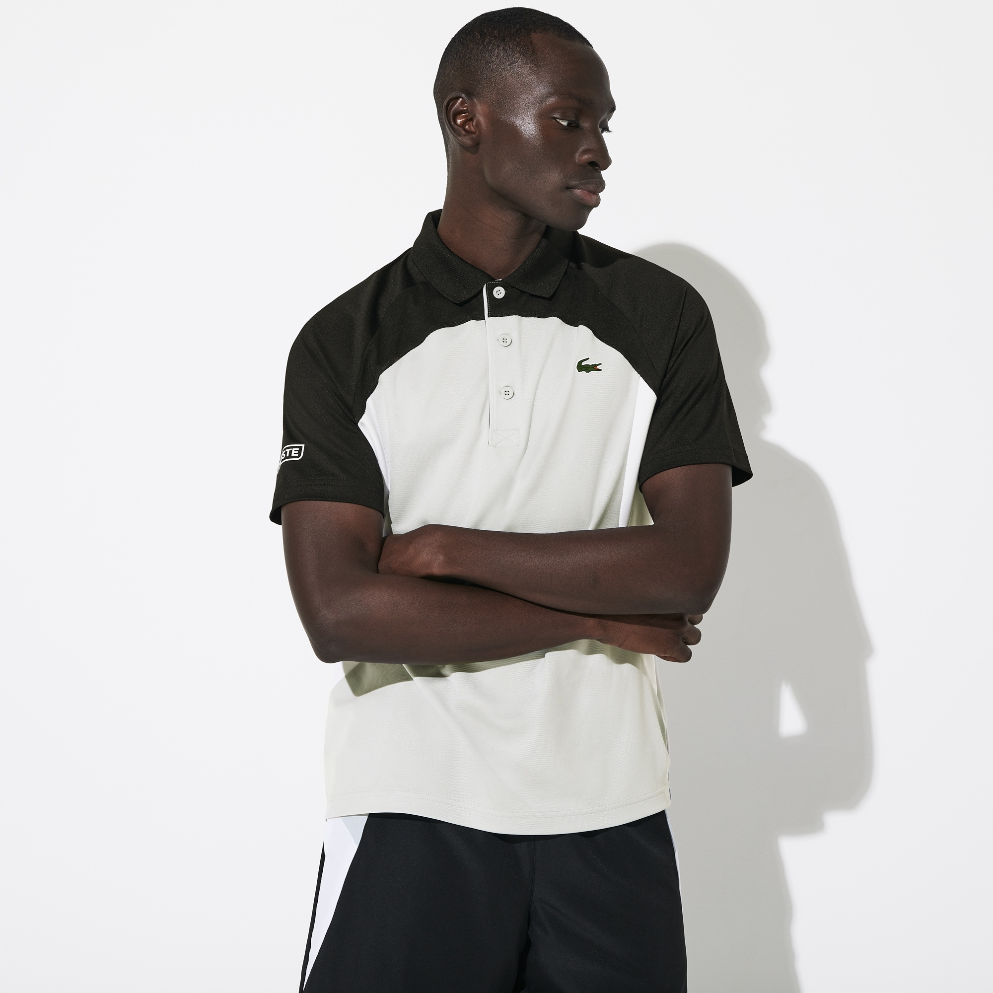 Premier nouveau haut Contrast Tipped Coolchecker Polo Travail Sport Casual Top