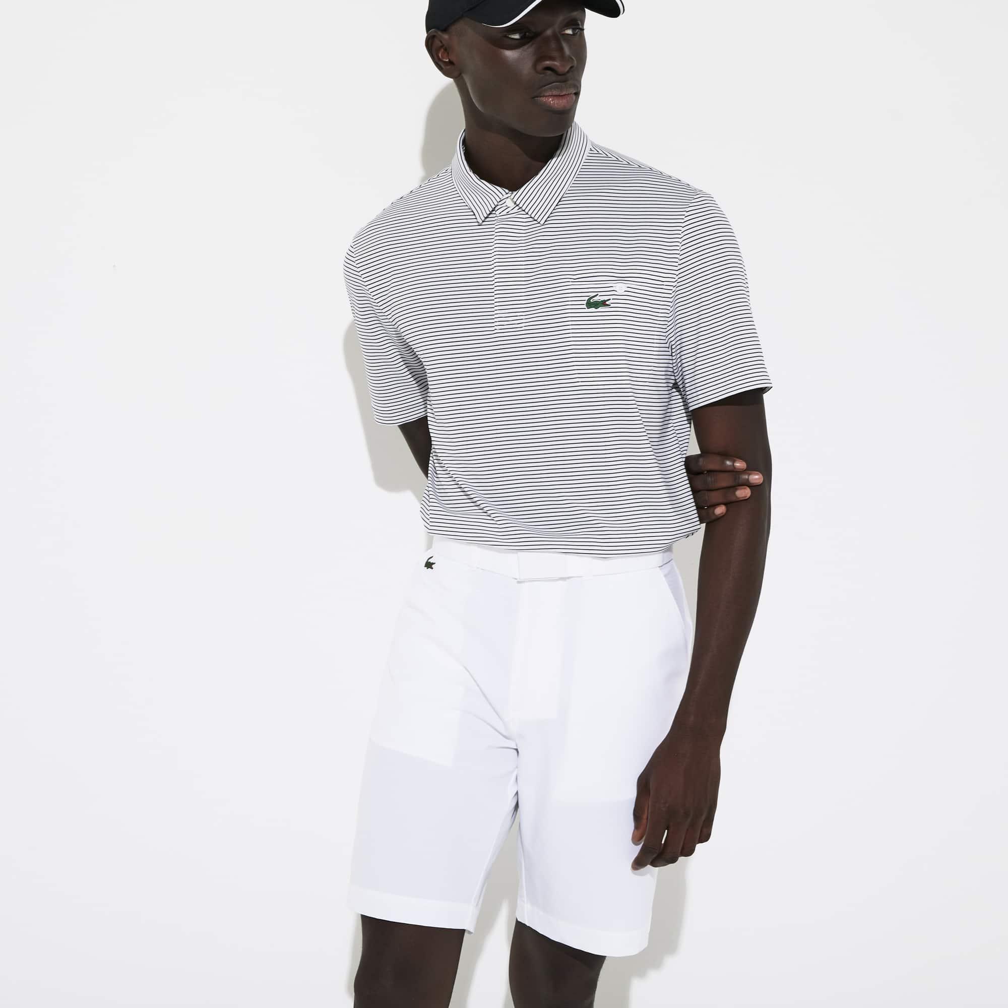 라코스테 Lacoste Mens SPORT Breathable Stretch Golf Bermudas