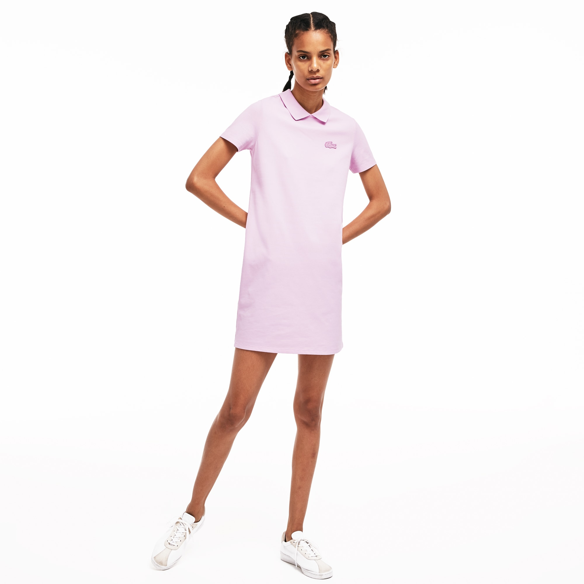 Women's LIVE Mini Piqué Polo Dress