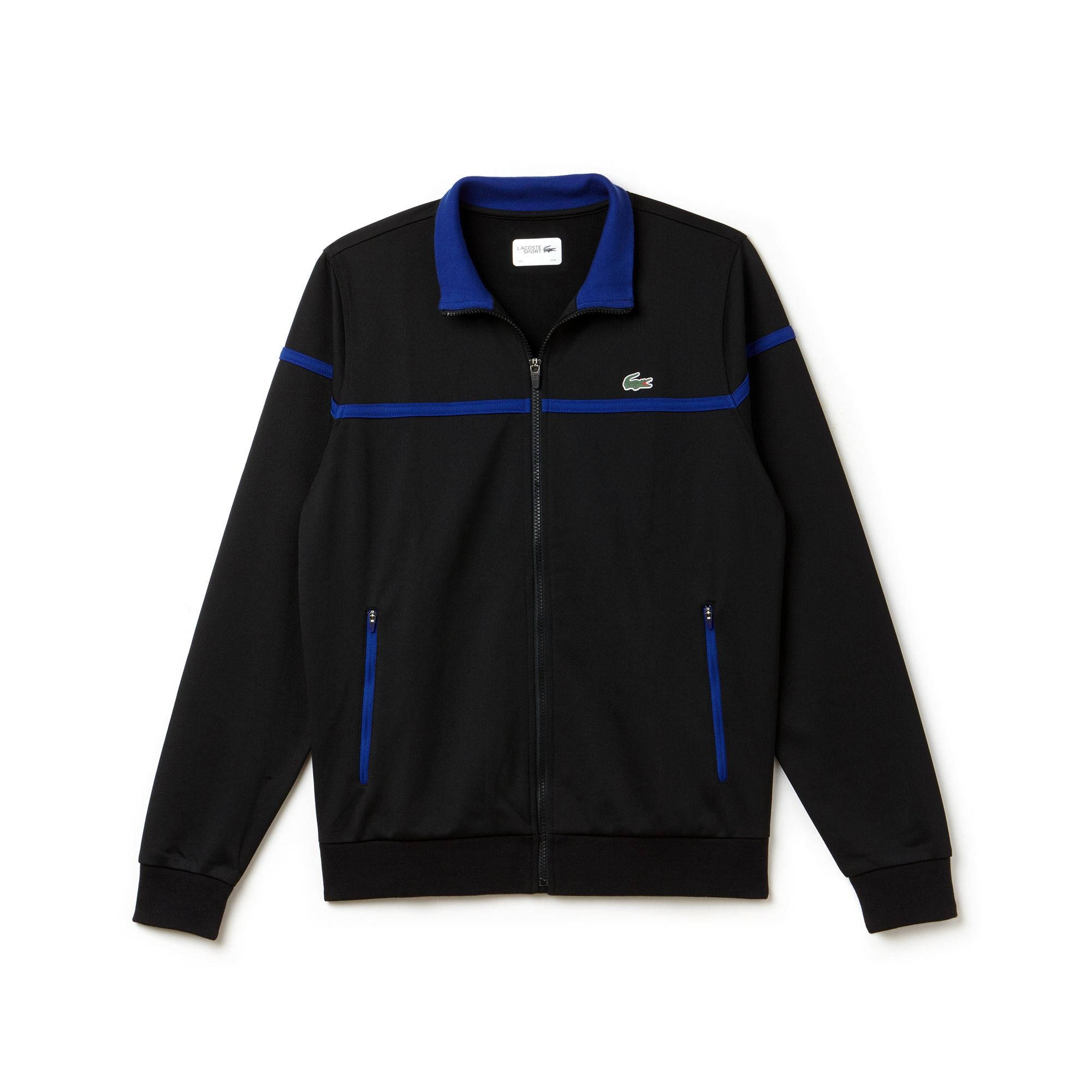 Men's SPORT Zip Run-Resistant Piqué Tennis Sweatshirt
