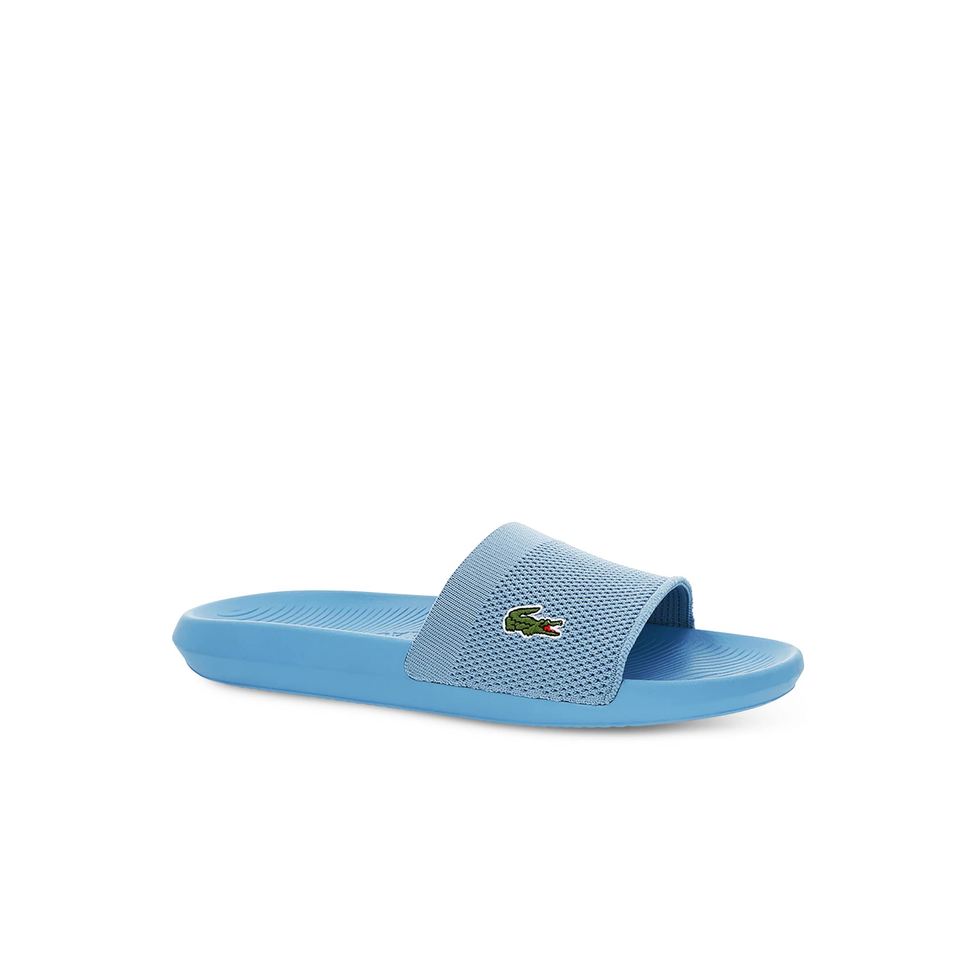 Lacoste  Men's Plain Textile Slides