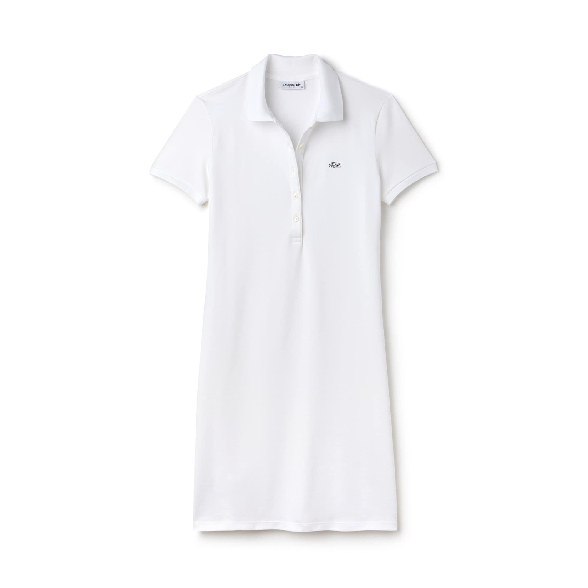 Women's Stretch Mini Piqué Polo Dress