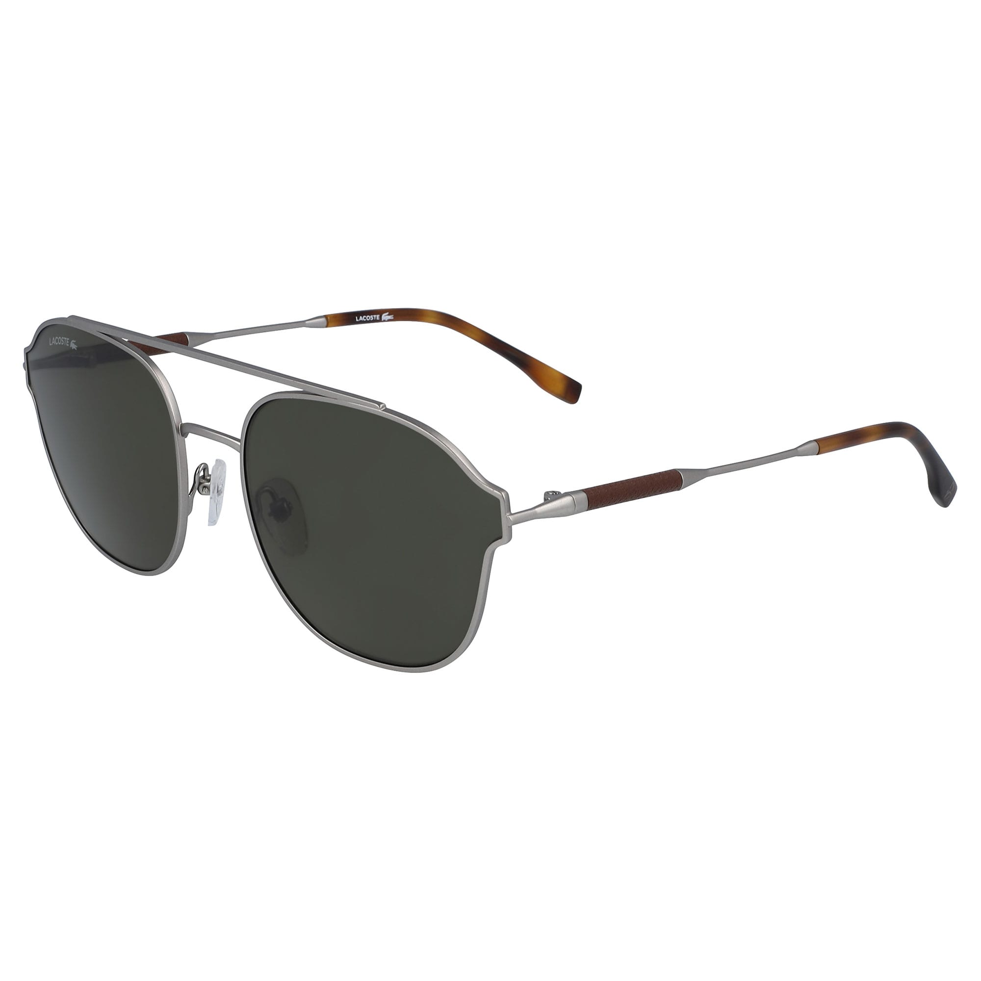 Navigator Metal Leather Punch Sunglasses