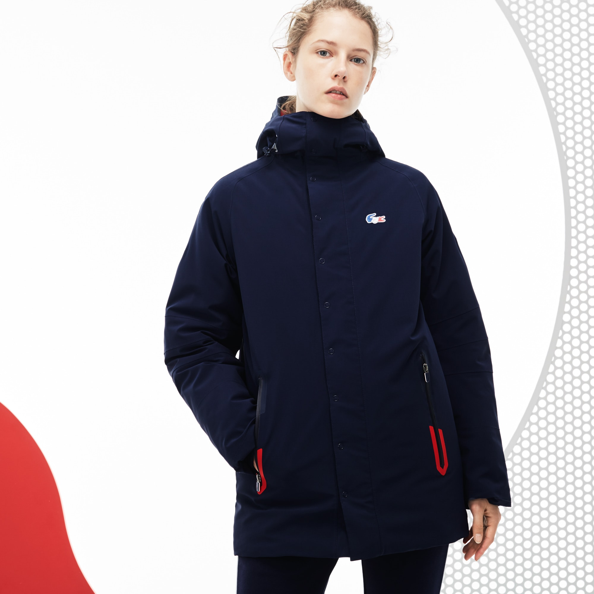 Women's French Sporting Spirit Edition Reversible Quilted Parka