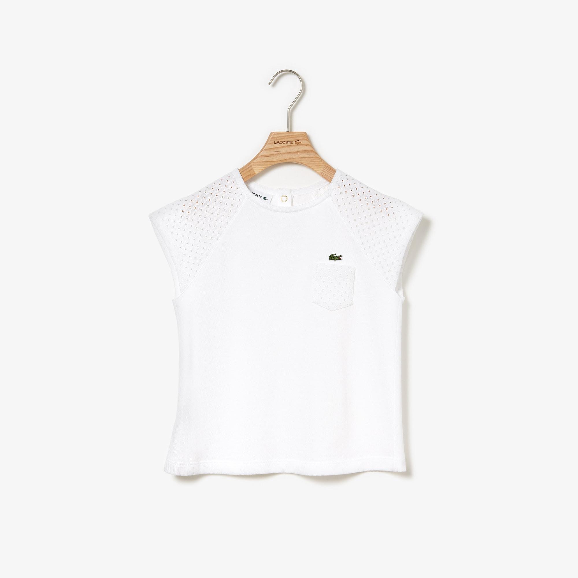 Girls' Crew Neck Jersey T-shirt