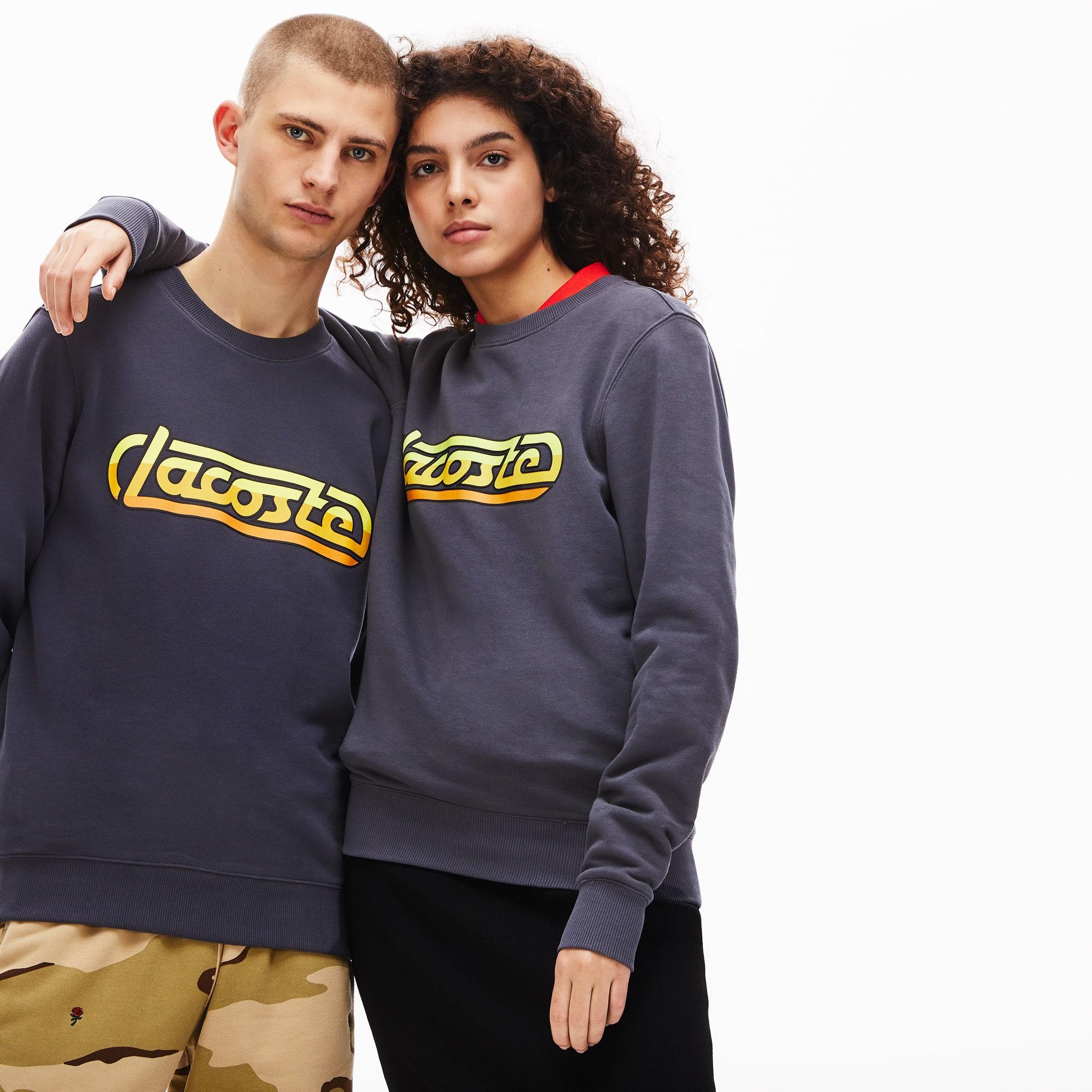 Lacoste Tops Unisex LIVE Signature Fleece Sweatshirt