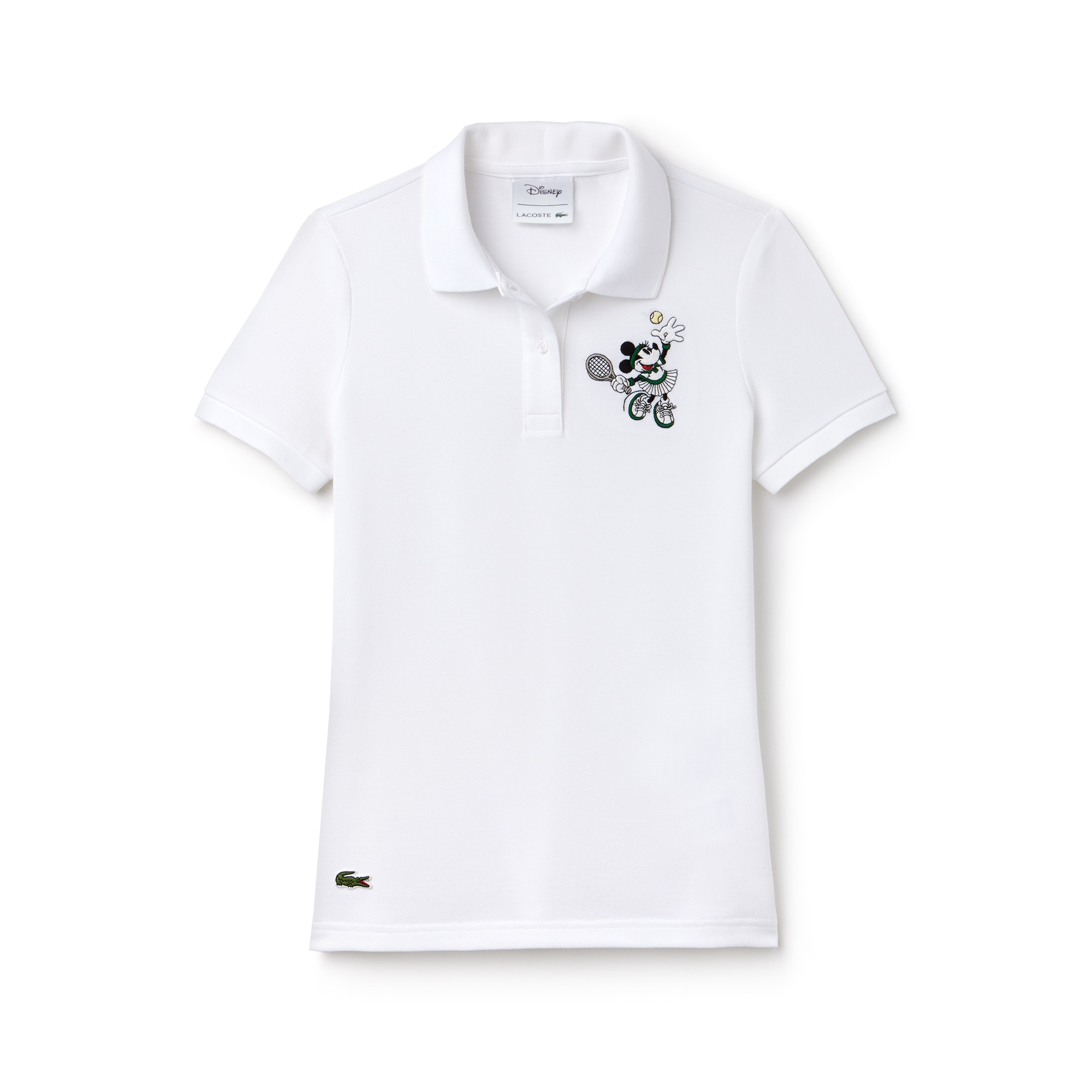 Women's Lacoste Disney Minnie Embroidery Petit Piqué Polo