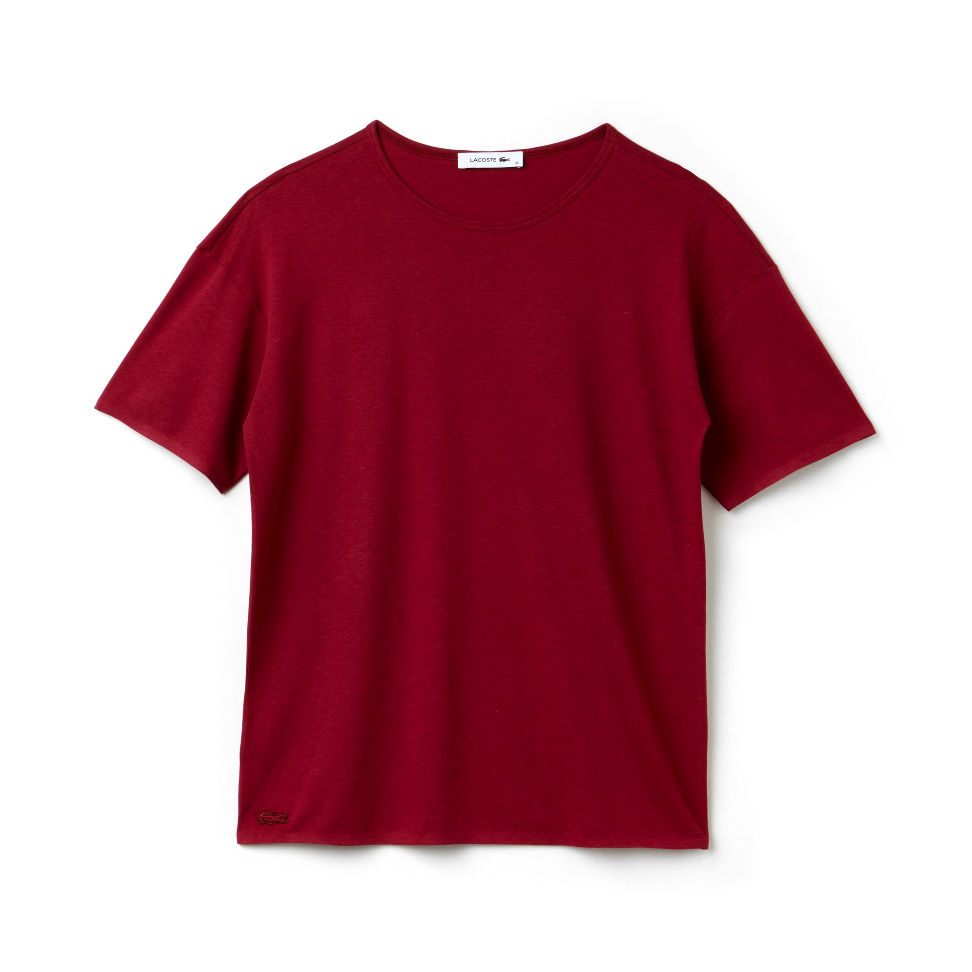Women's Wide Neck Flowing Jersey T-Shirt