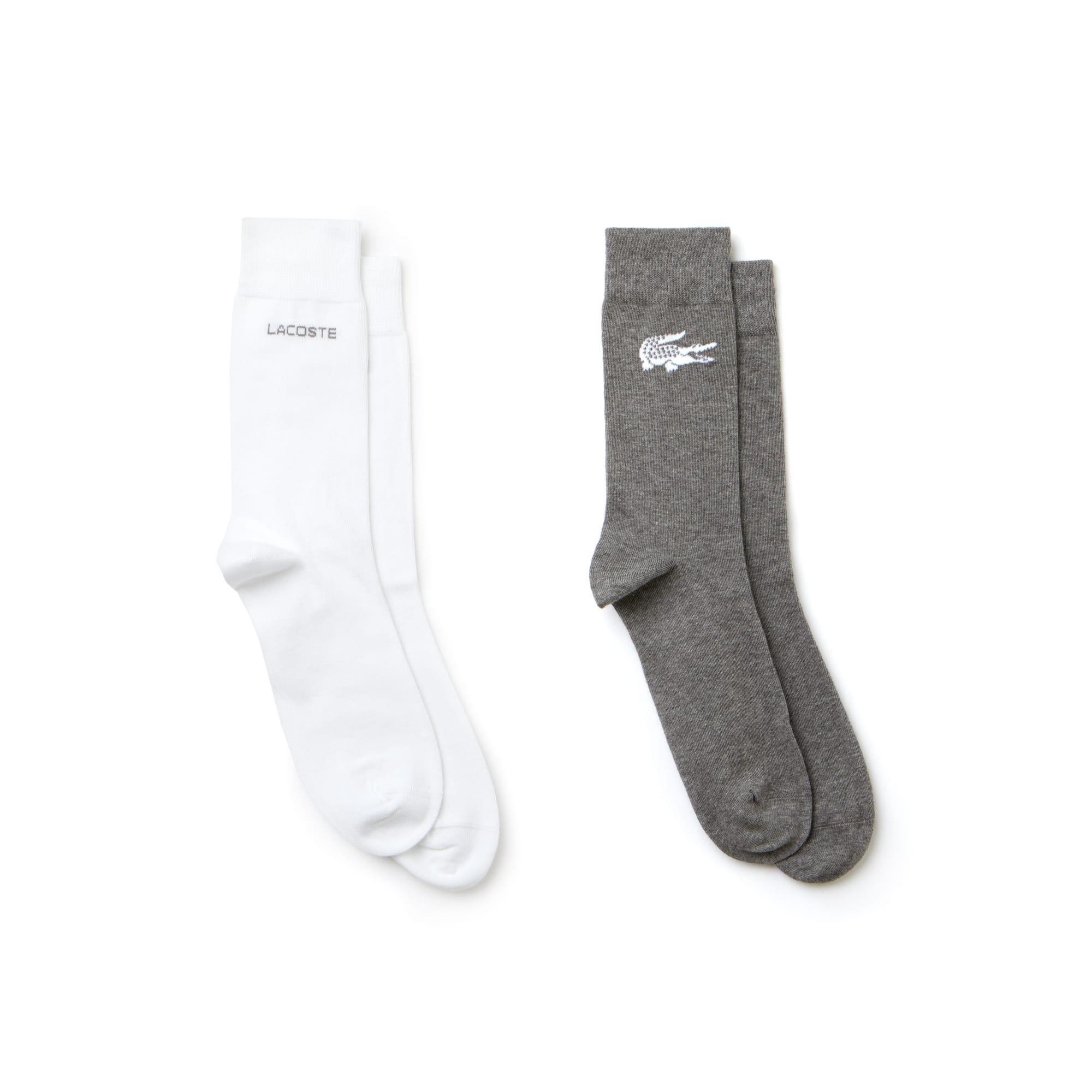 Men's Print Jersey Socks 2PK