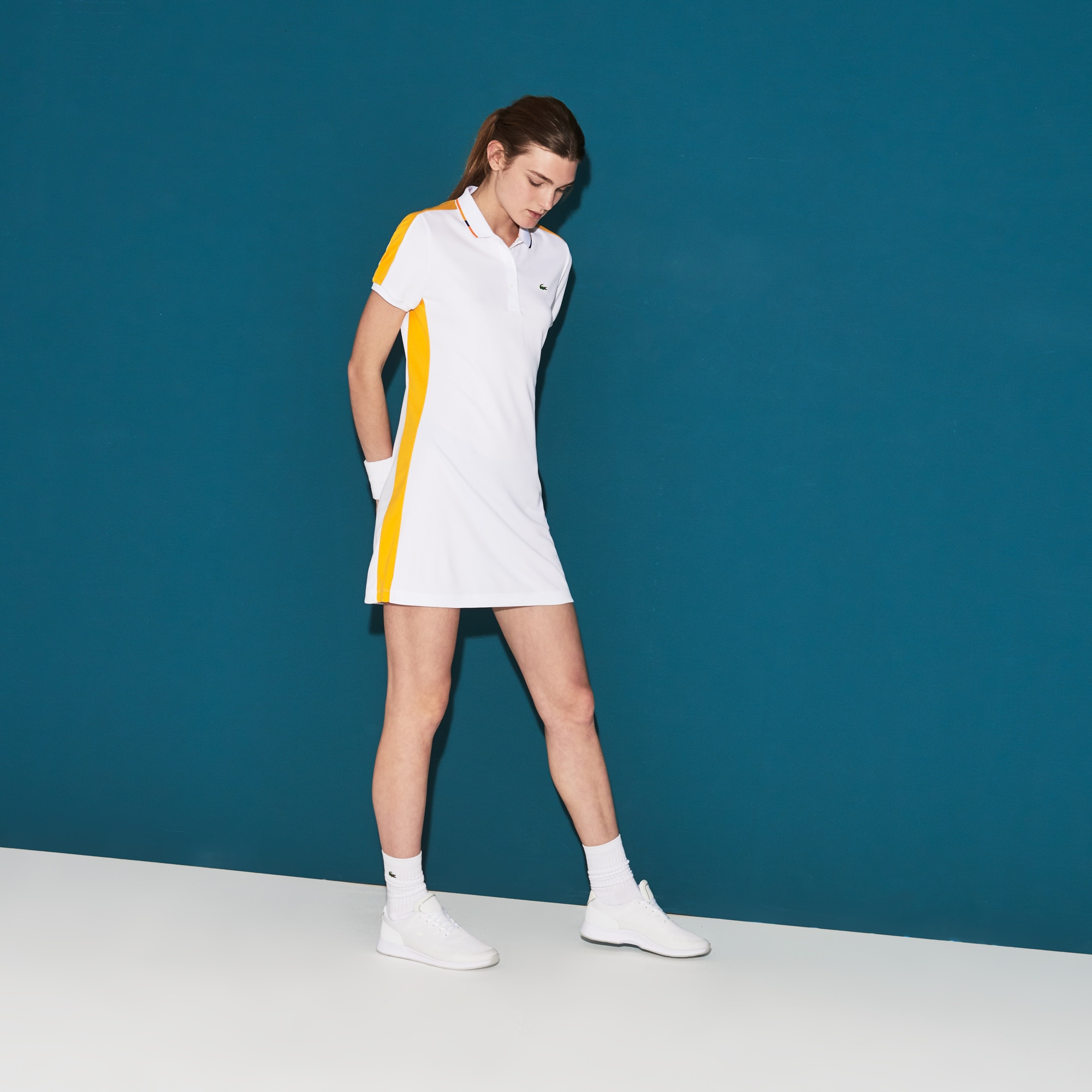 Women's SPORT Piqué Tennis Polo Dress
