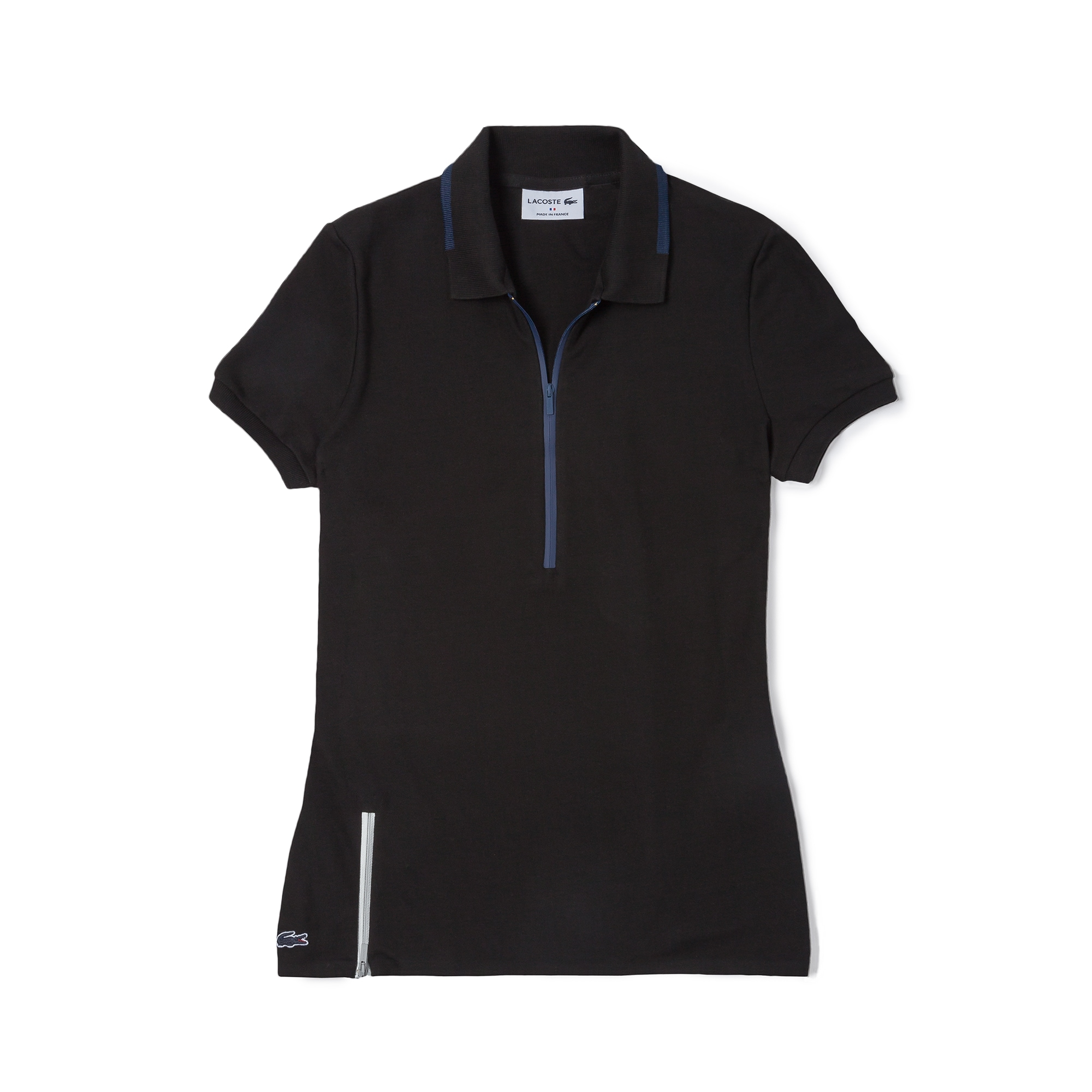 Women's Made In France Straight Fit Premium Piqué Polo