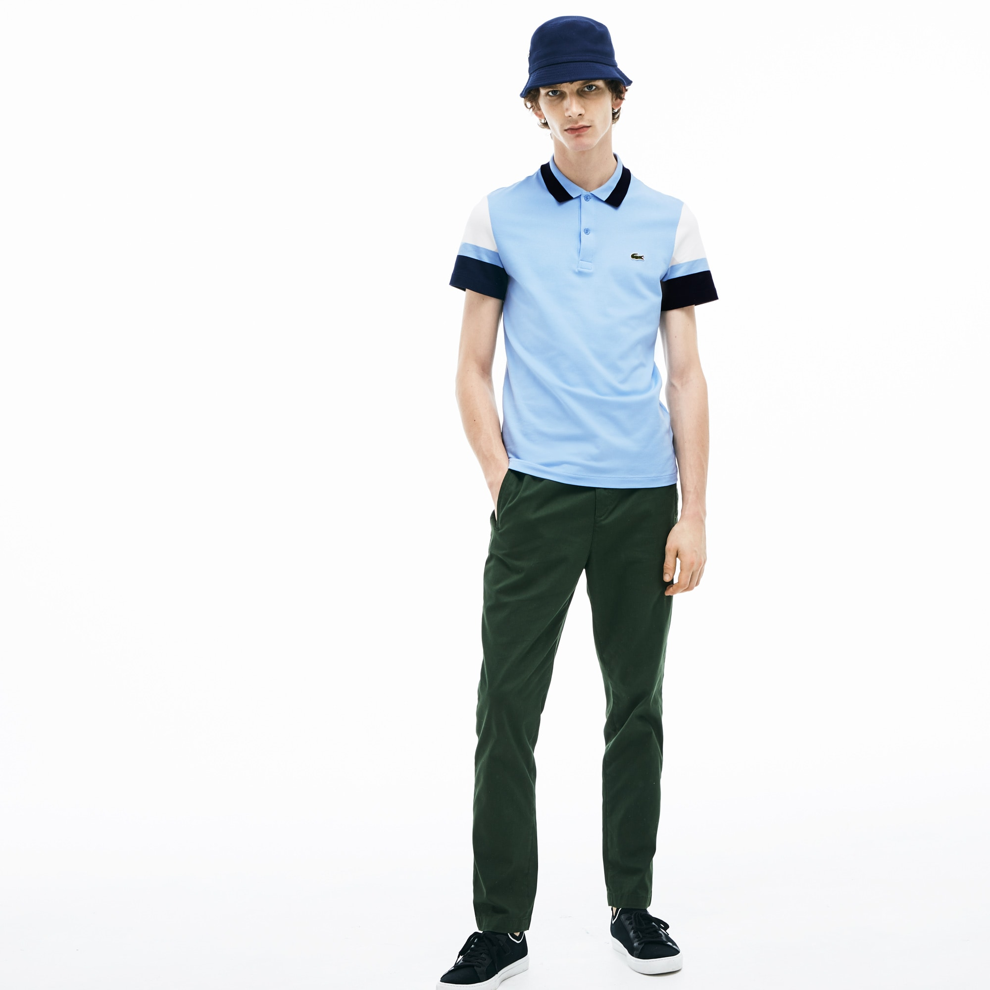 Men's Slim Fit Stretch Pima Polo Shirt