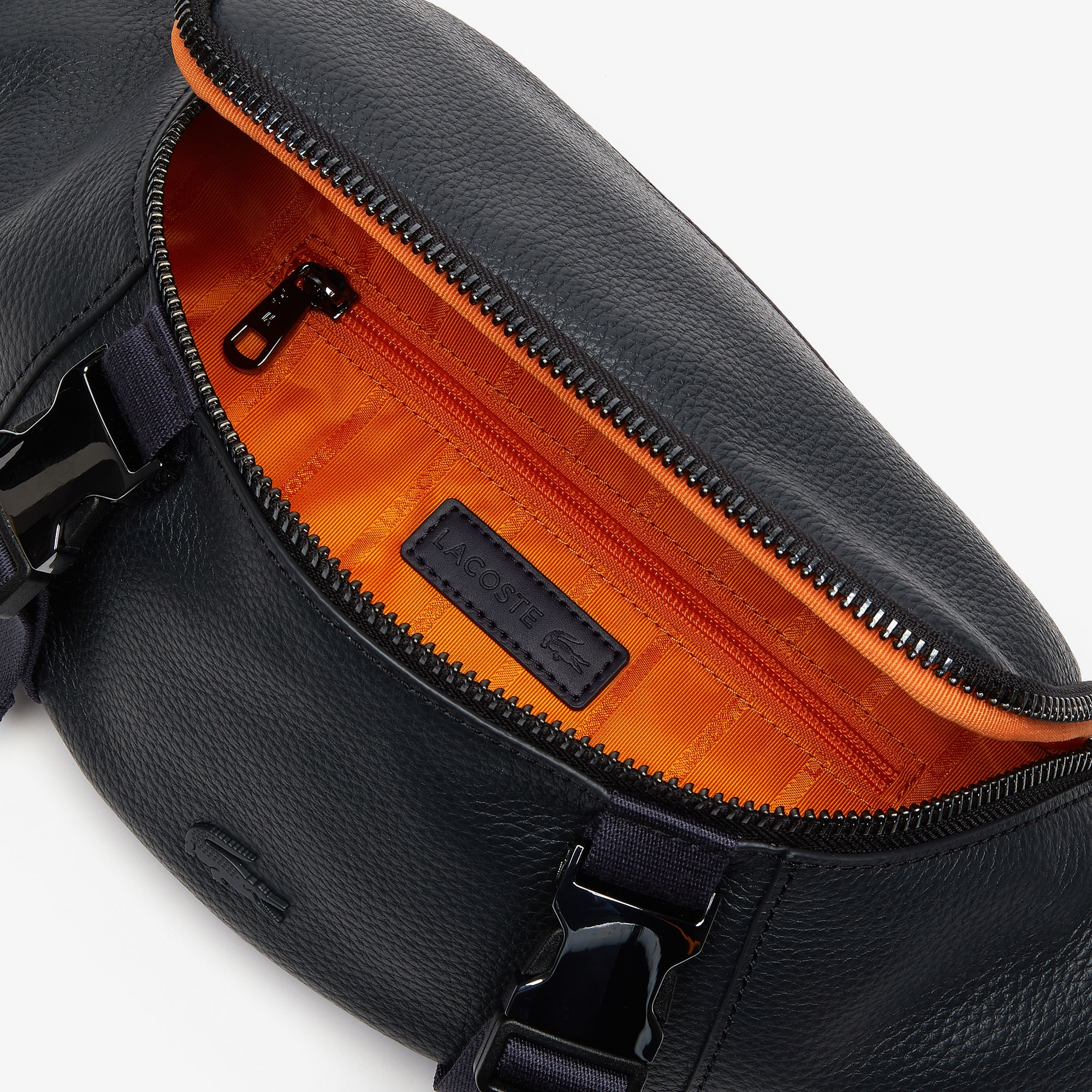 Men's Altitude Grained Leather Zip Fanny Pack