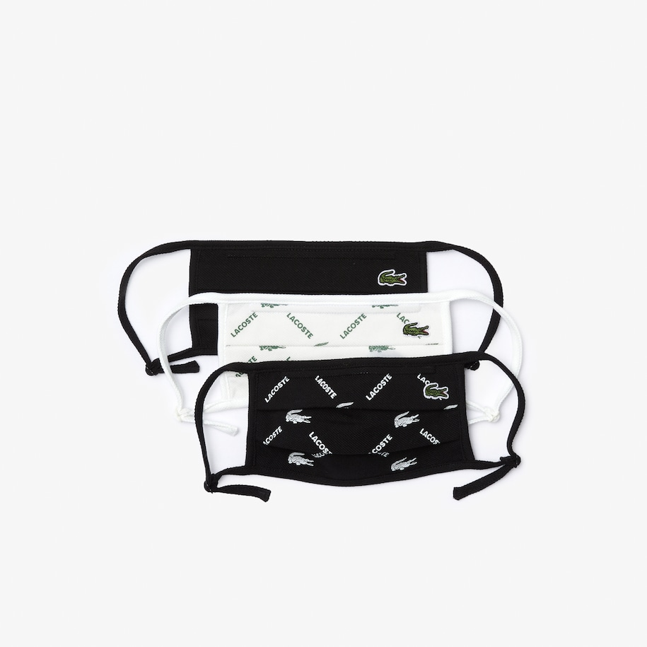 L.12.12 Printed Face Mask with Adjustable Strap