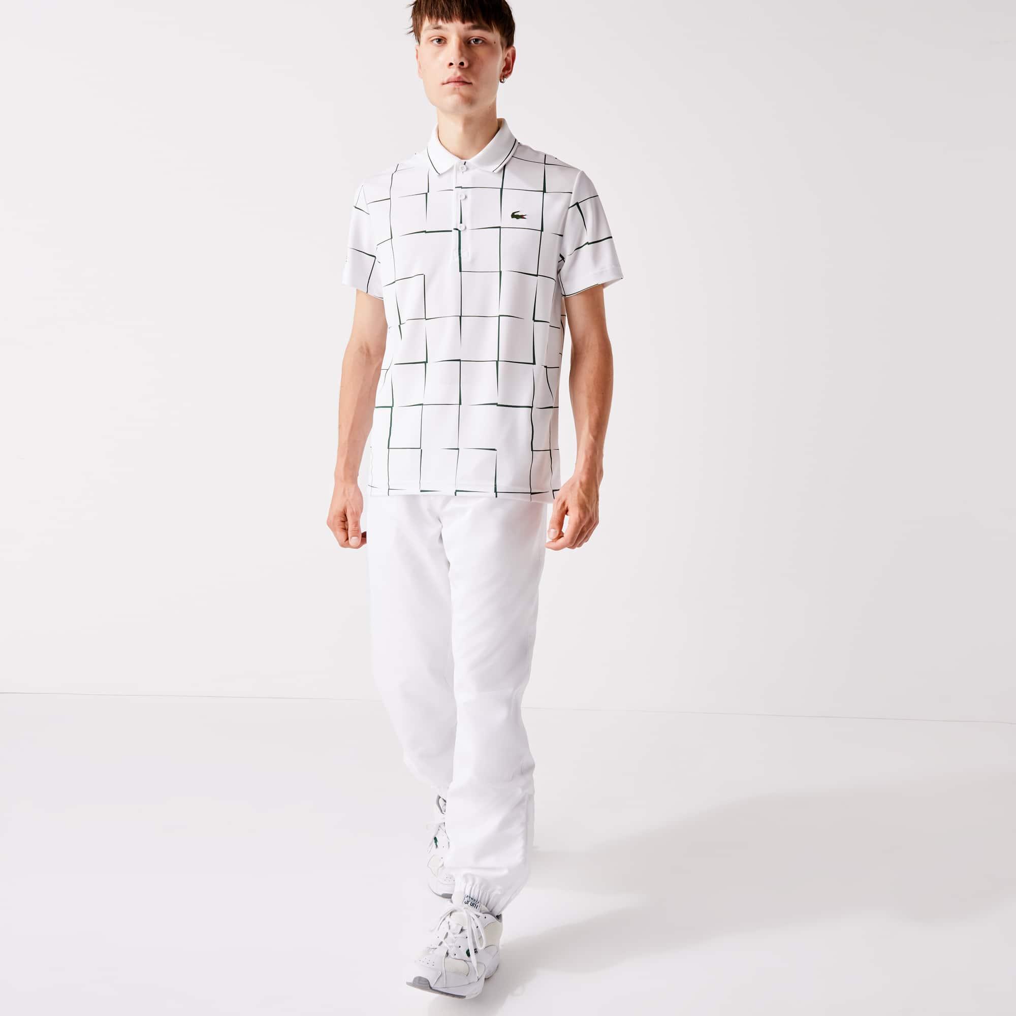 Choose SZ//color Lacoste Men/'s Sport Taffetta Pant with Side Zip De