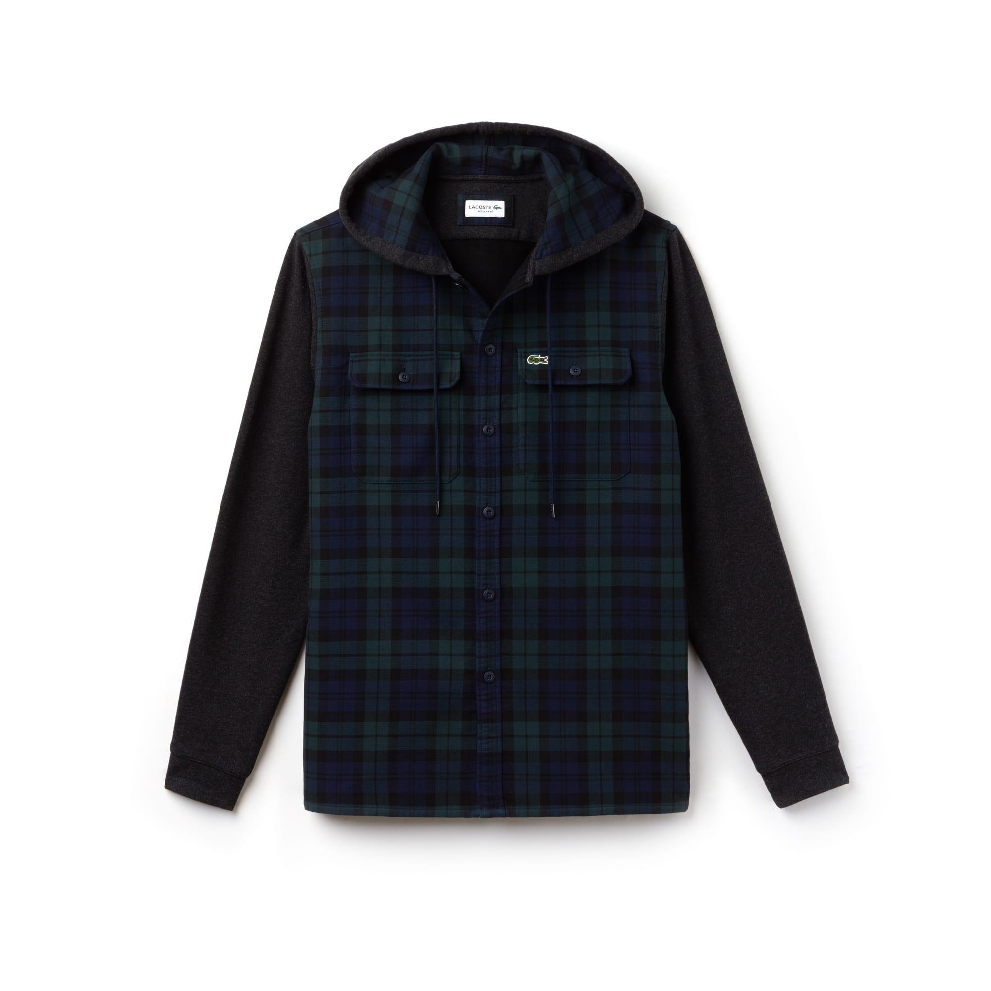 b5bf382ba0c70 Lacoste Long Sleeve Small Check Shirt | Azərbaycan Dillər Universiteti