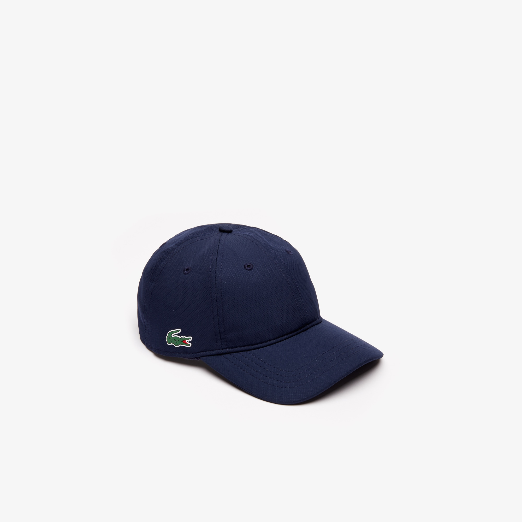 Lacoste Men/'s Poly Baseball Cap Navy Blue One Size