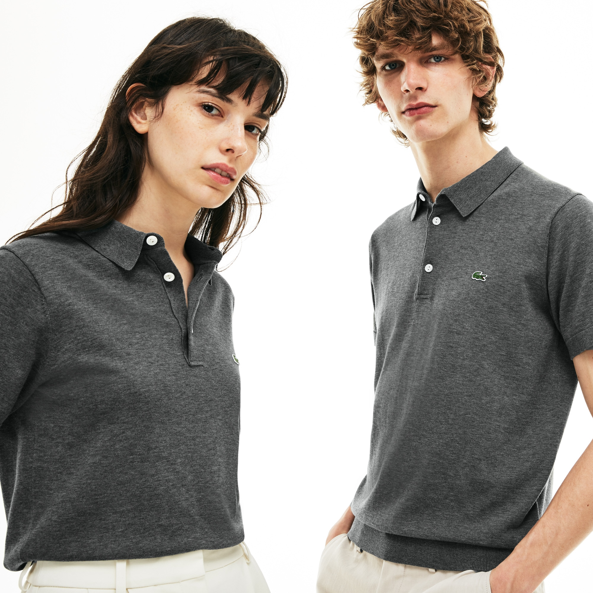 Unisex 85th Anniversary Limited Edition Flecked Polo