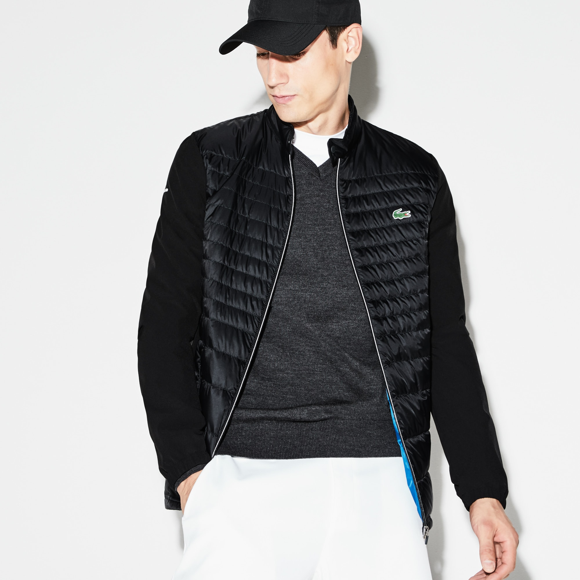 aed345a16767 Men s SPORT Water-Resistant Technical Quilted Golf Jacket