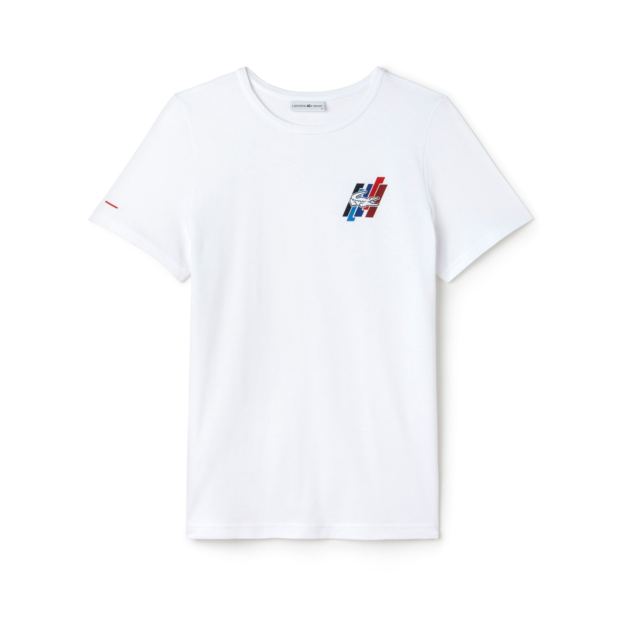Women's Tricolor Collection Crew Neck Jersey T-shirt