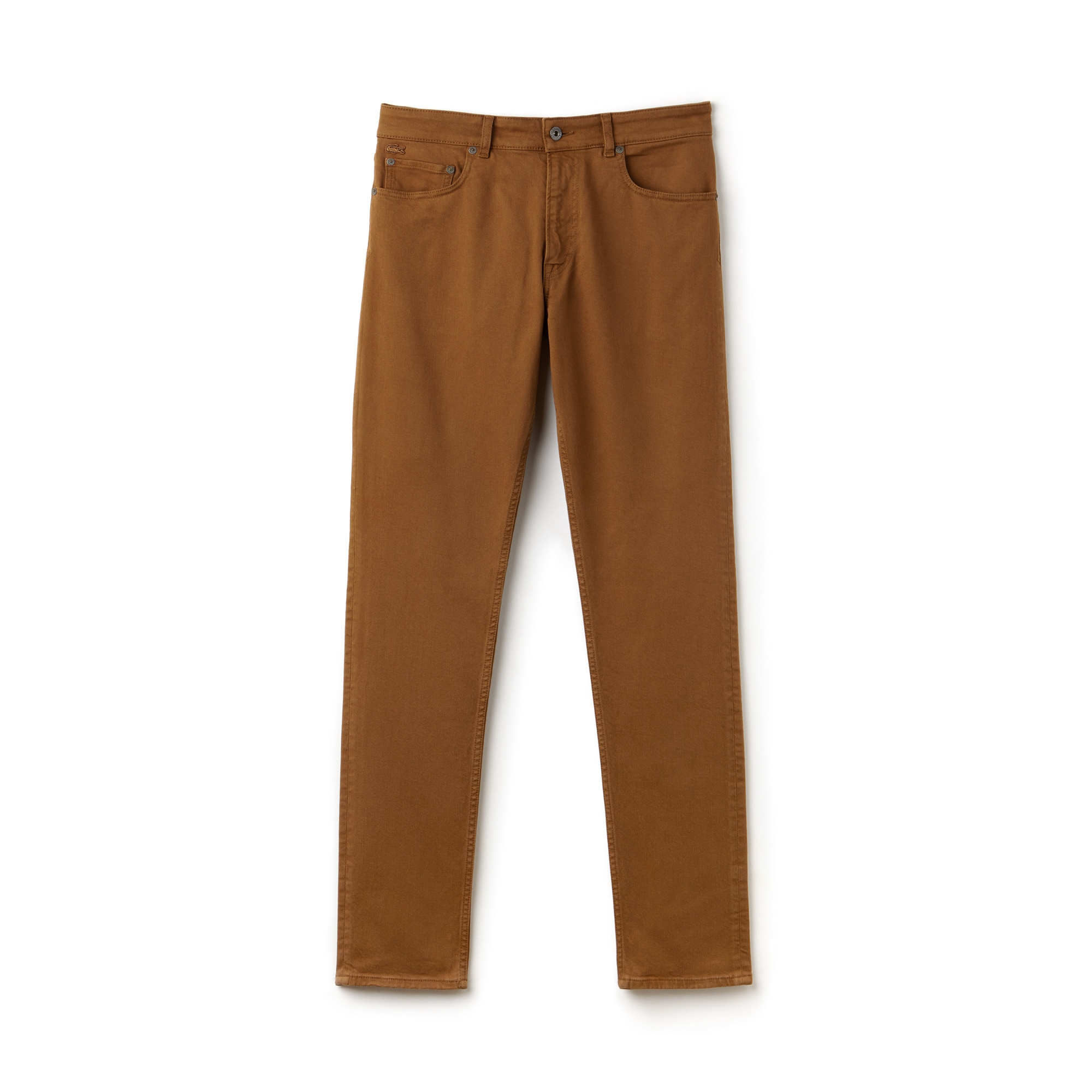 Men's Slim Fit 5-Pocket Stretch Cotton Twill Pants