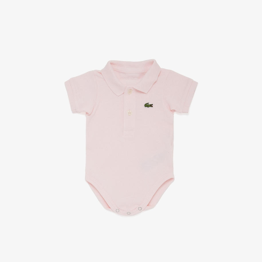 Boys' Baby Organic Cotton Piqué Bodysuit In Recycled Cardboard Box Set