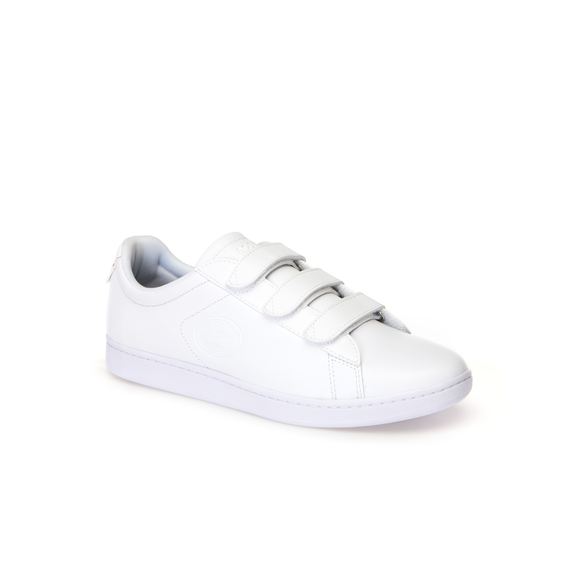 Carnaby Leather Strap Trainers Men's Lacoste Evo v8qdWg