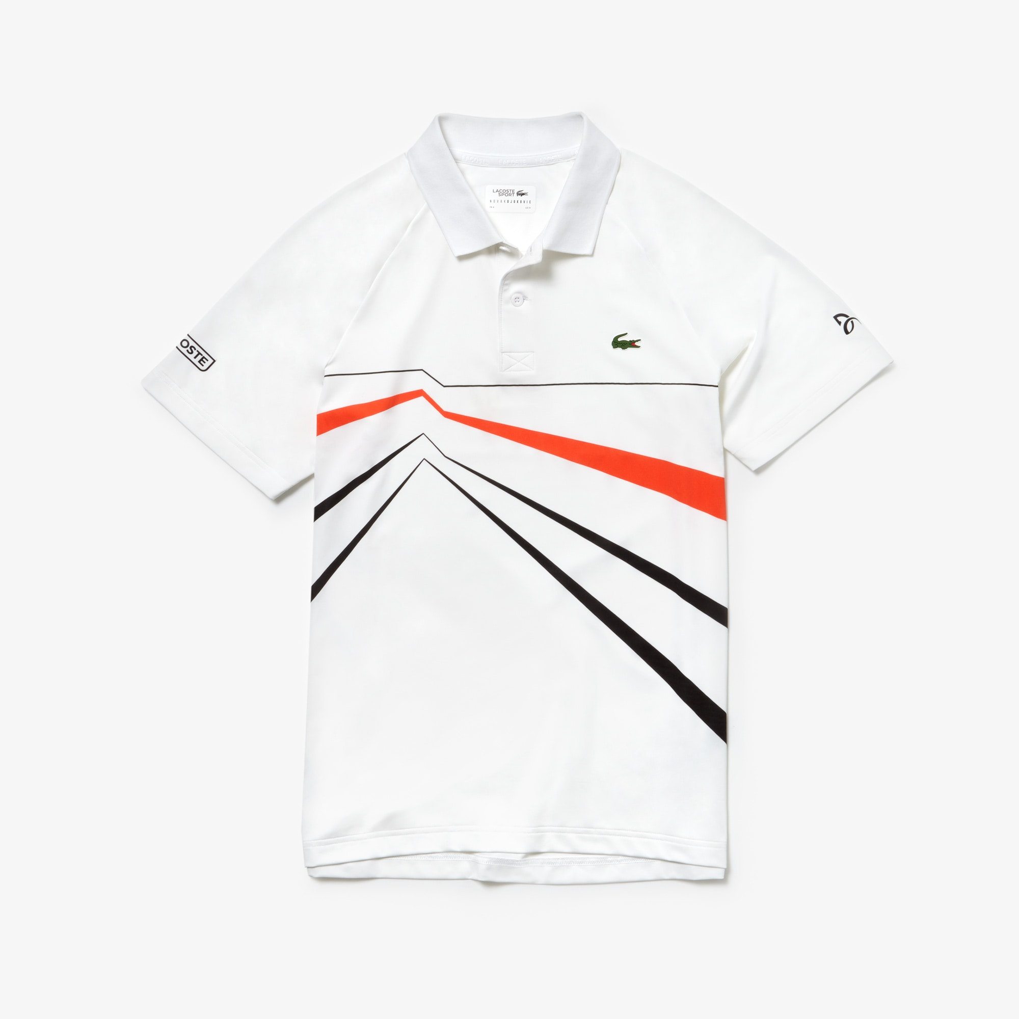Polo SPORT Collection Novak Djokovic en stretch imprimé