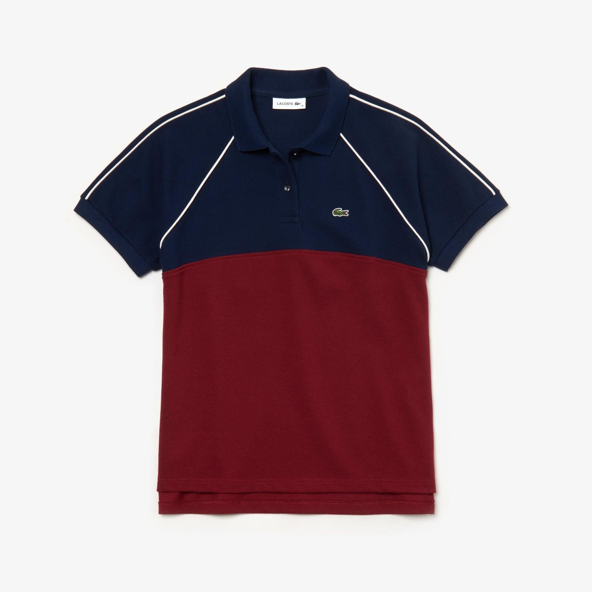 Women's Slim Fit Petit Piqué Polo Shirt