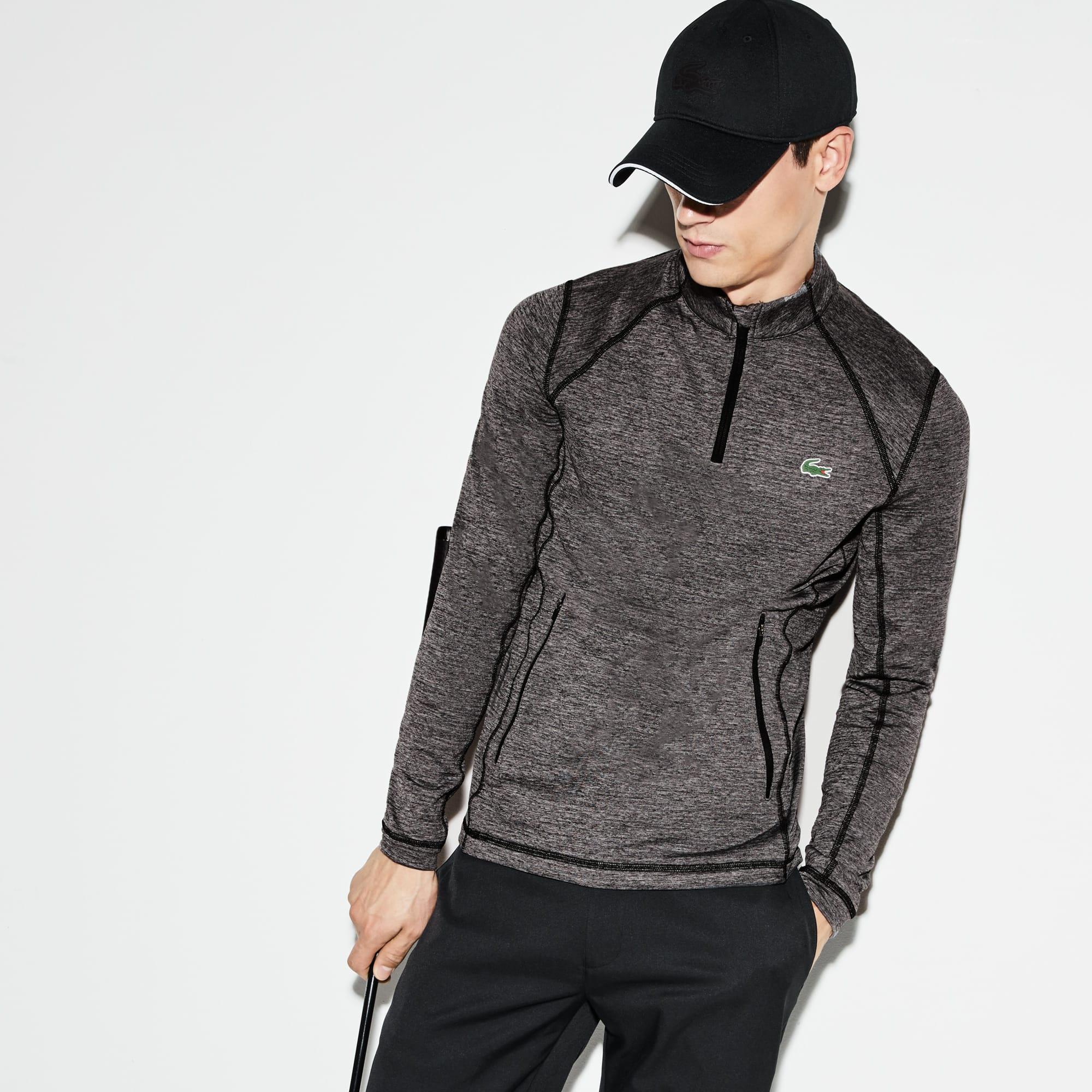 Men's SPORT Zip Neck Technical Midlayer Golf Sweatshirt