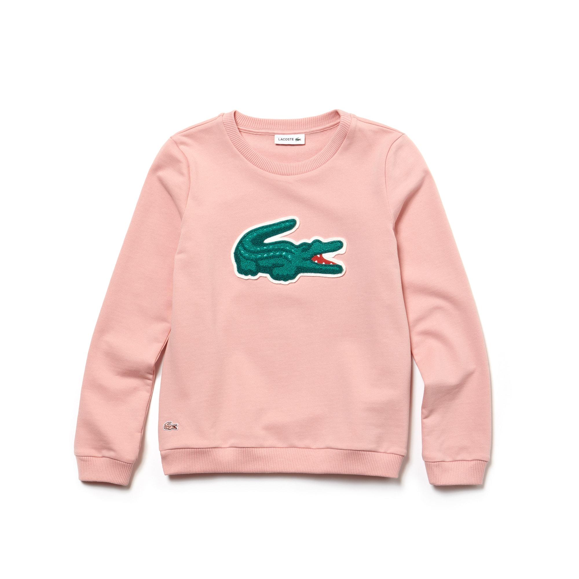 7234a7c3b Girls  Oversized Crocodile Sweatshirt