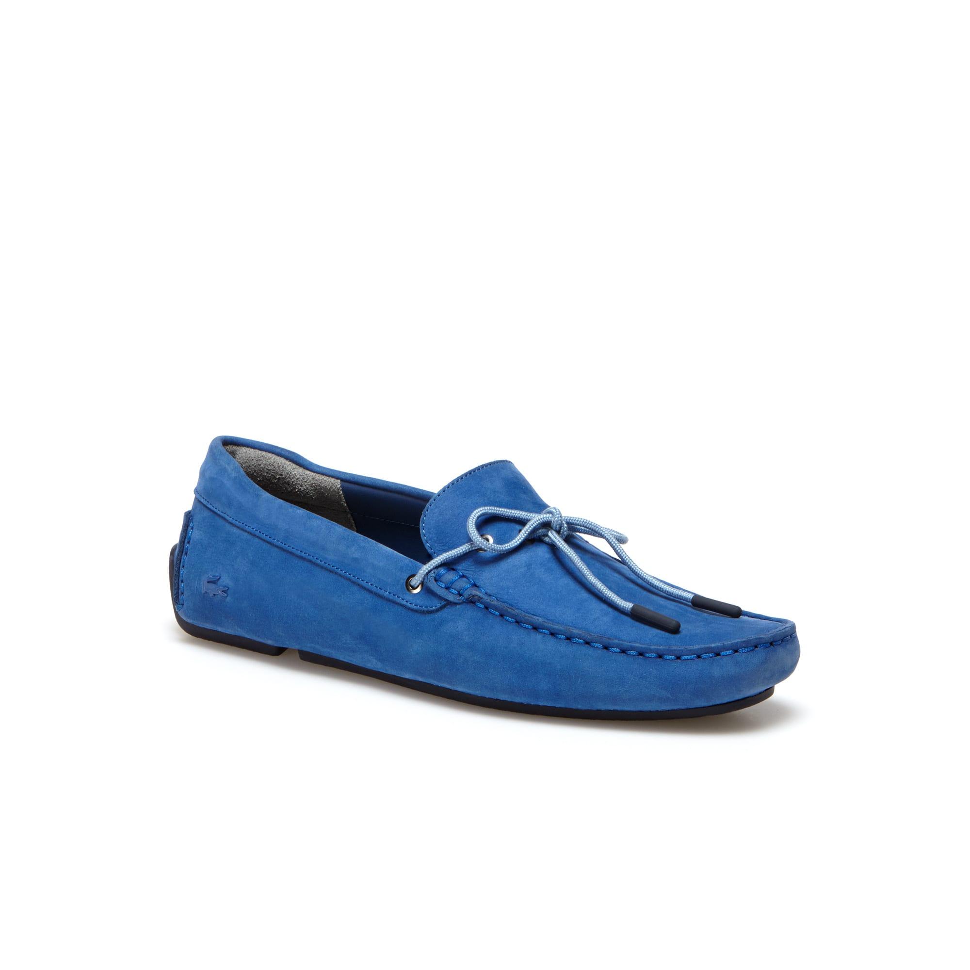 Men's Piloter Corde Suede Loafers