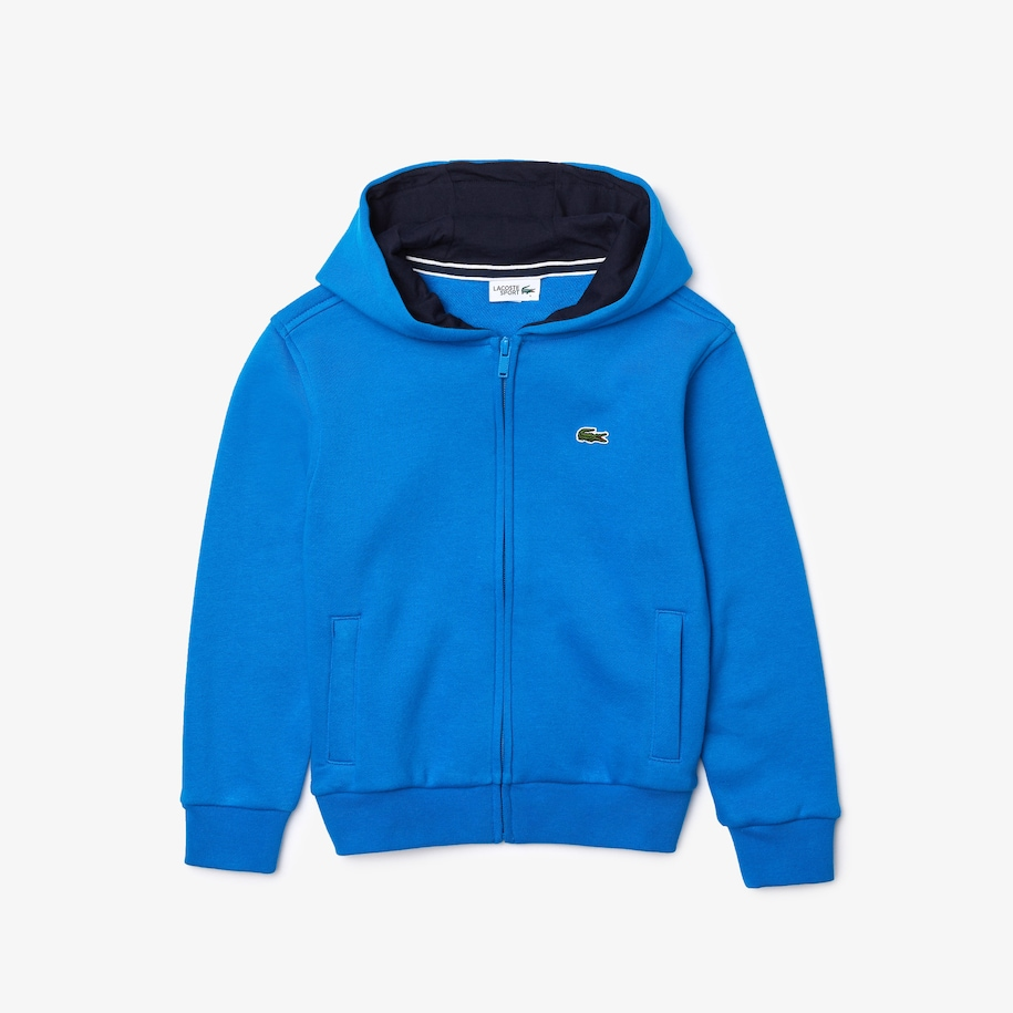 Kids' SPORT Tennis Zippered Fleece Sweatshirt