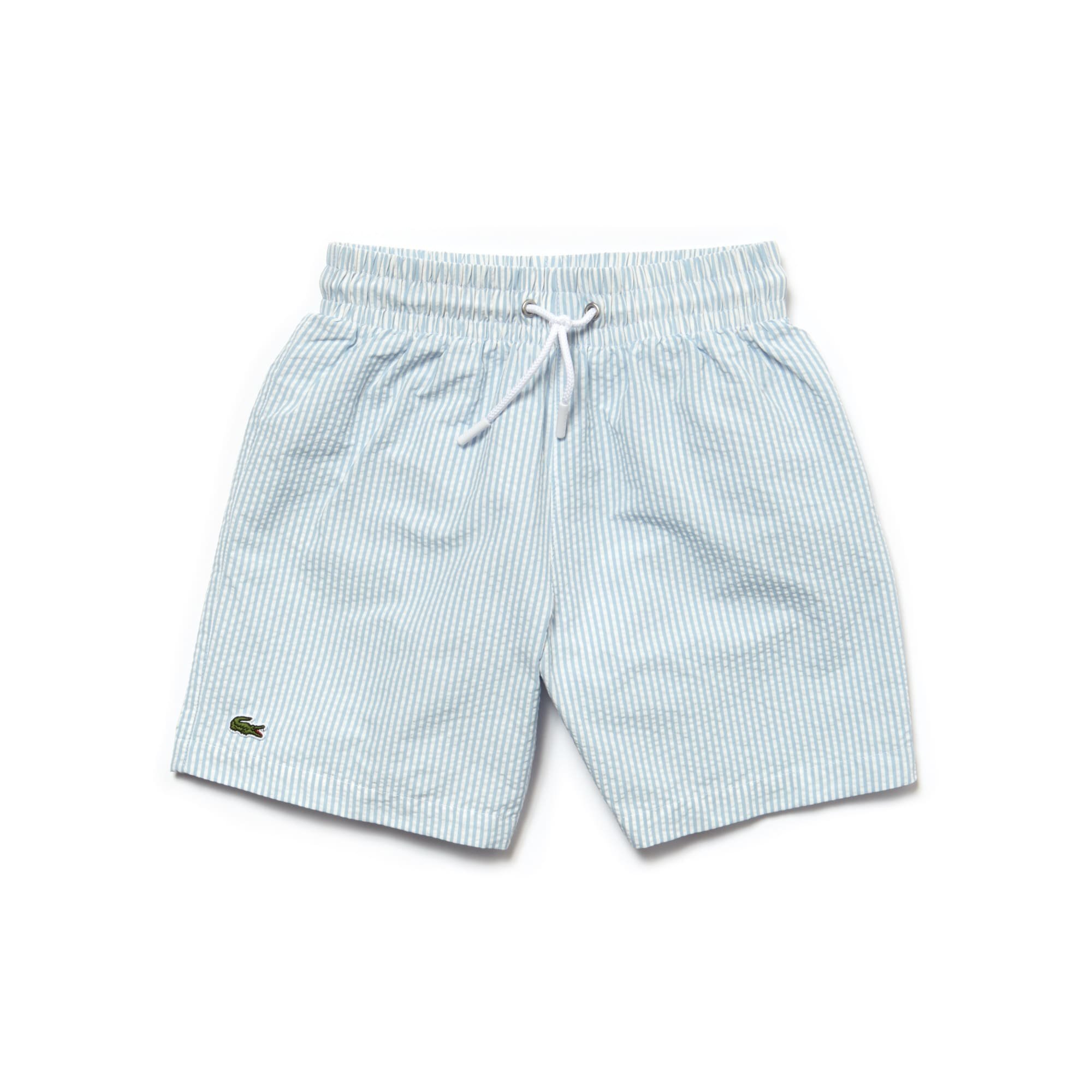 Boys' Seersucker Swimming Trunks
