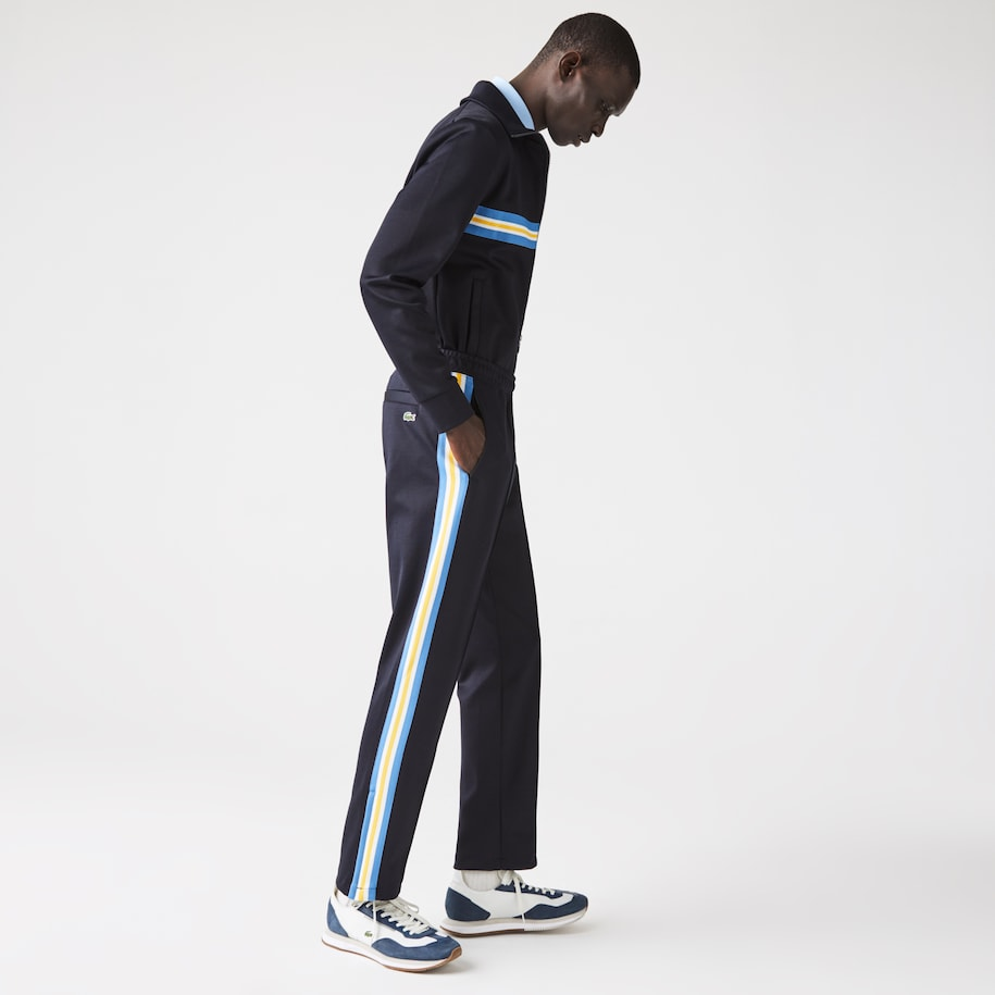 Men's Straight-Cut Heritage Track Pants