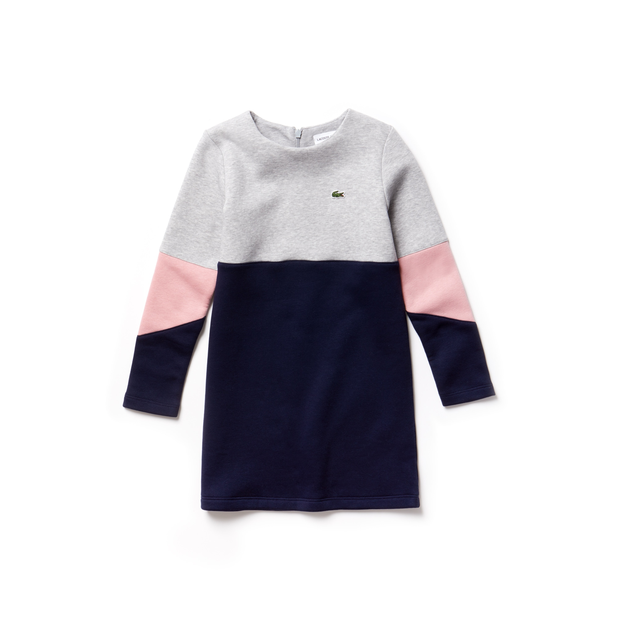 Girls' Colorblock Fleece Dress